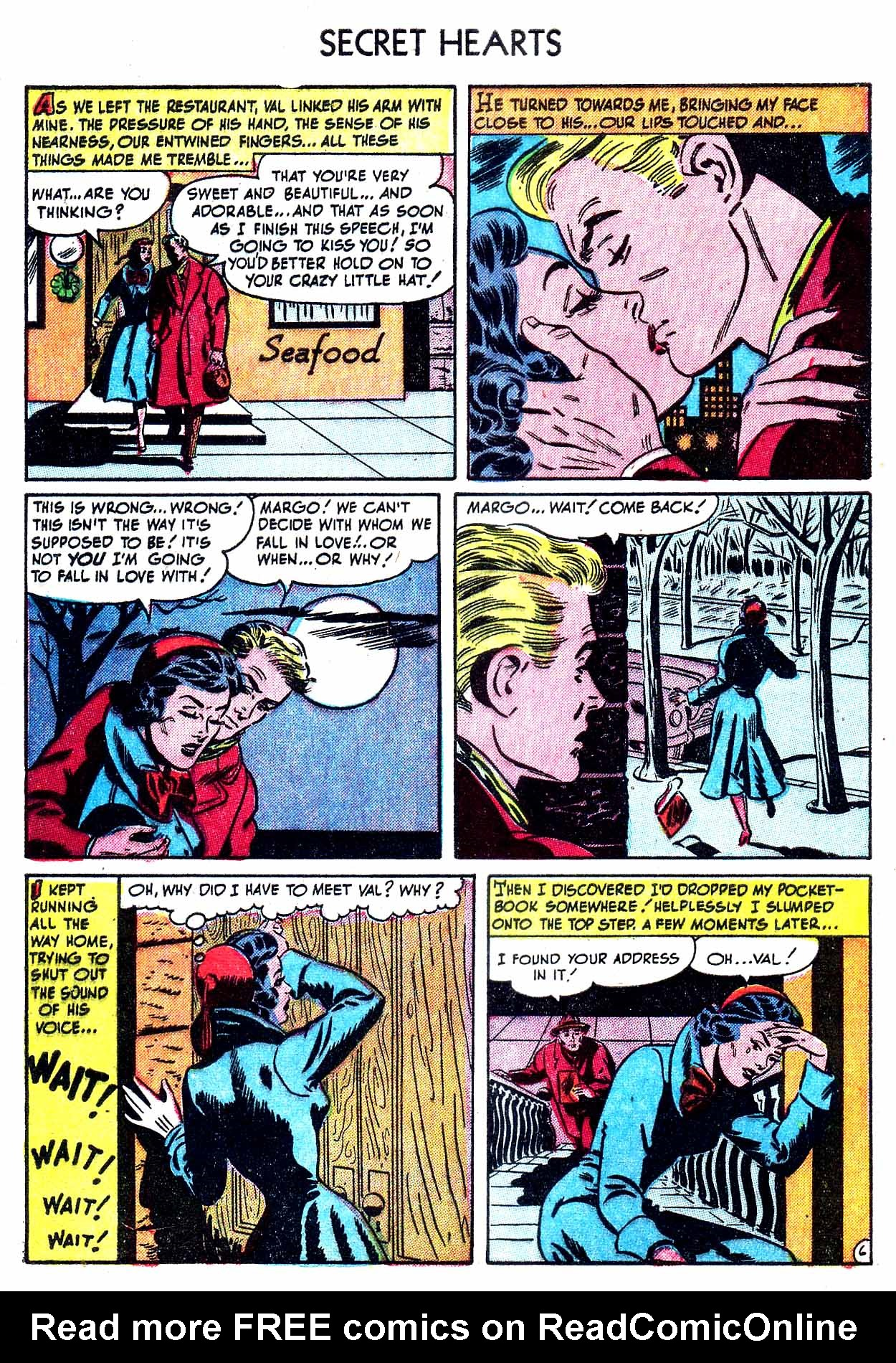 Read online Secret Hearts comic -  Issue #8 - 8