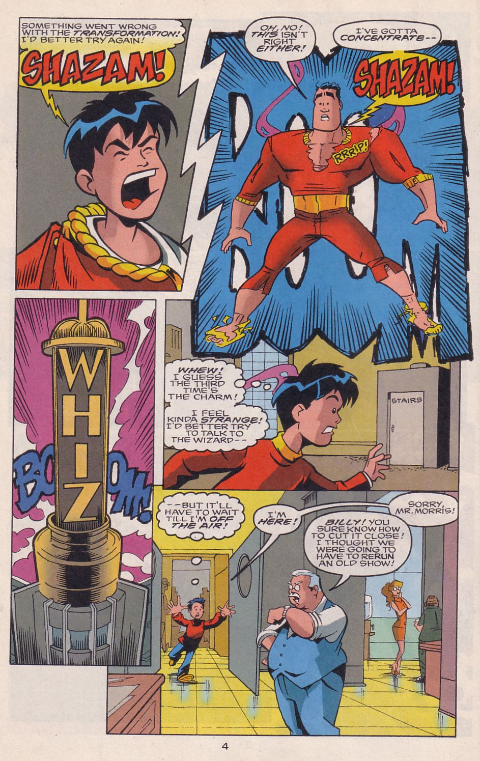 Read online Adventures in the DC Universe comic -  Issue #15 - 5