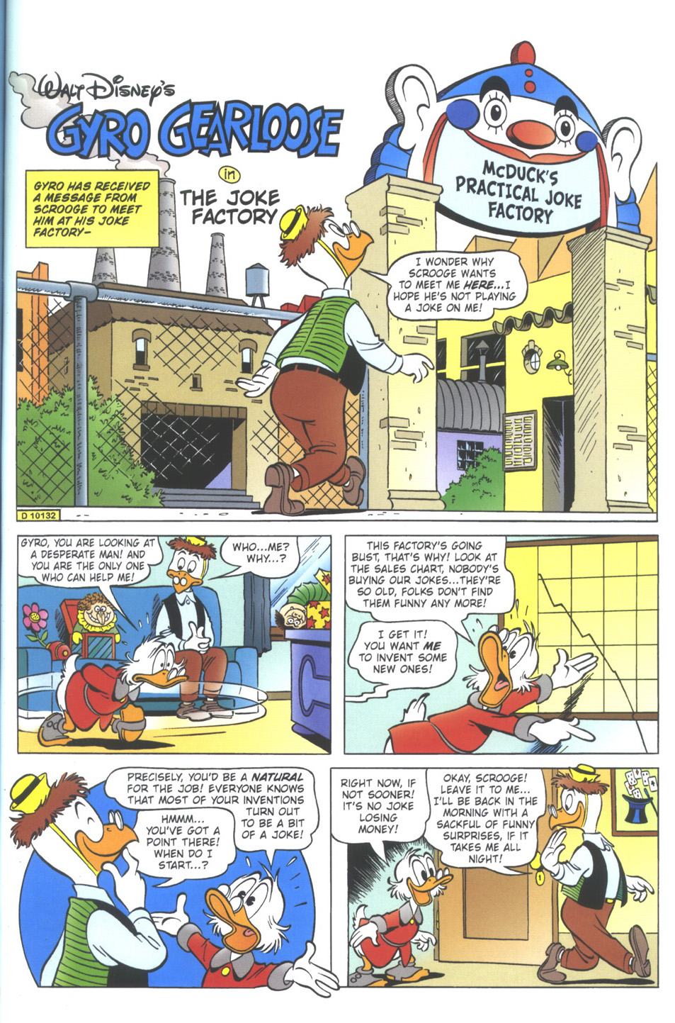 Uncle Scrooge (1953) Issue #335 #335 - English 43