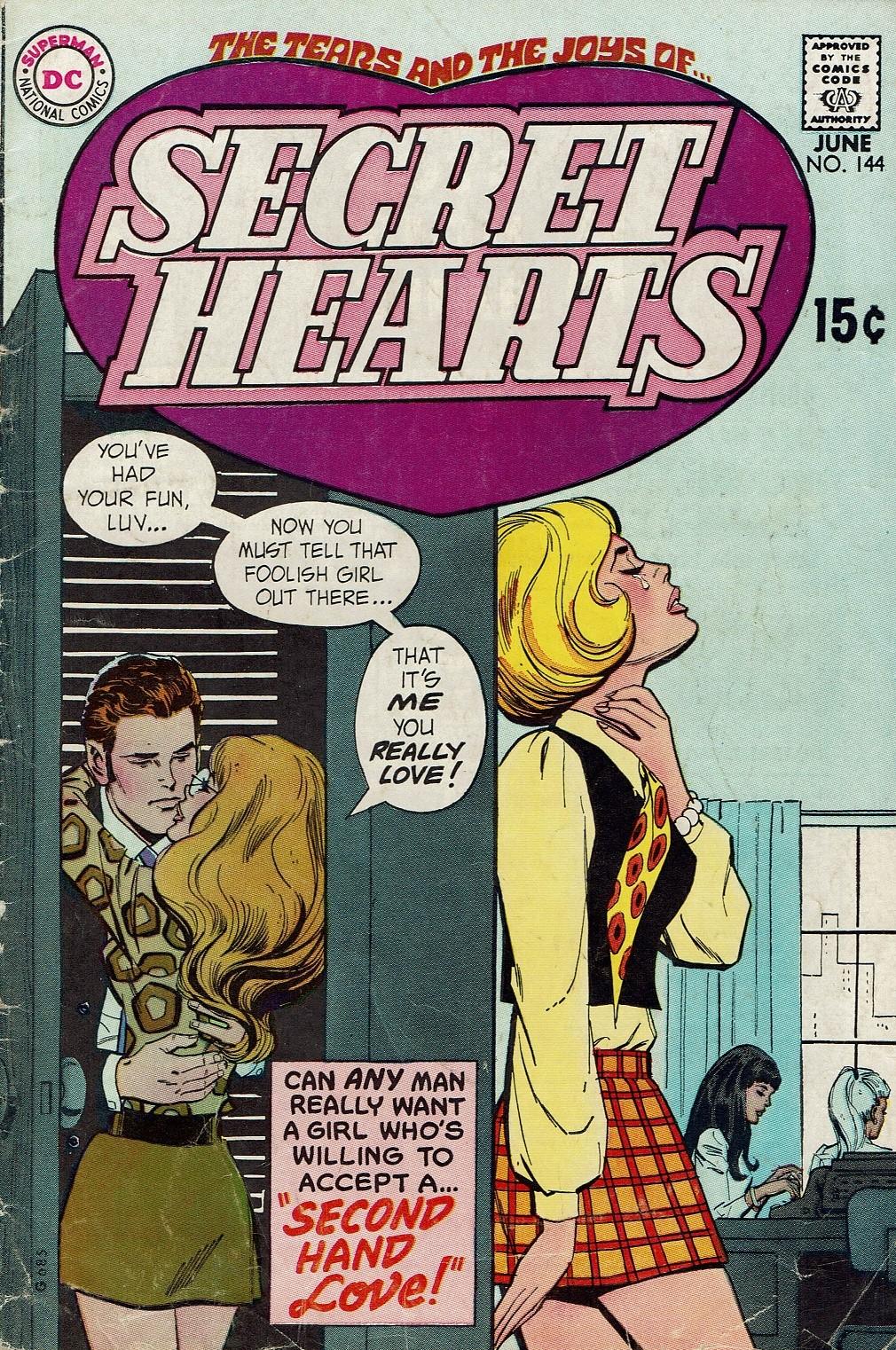 Read online Secret Hearts comic -  Issue #144 - 1
