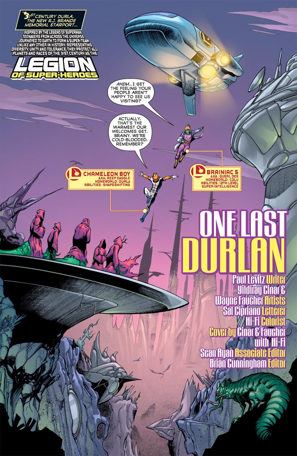 Legion of Super-Heroes (2010) Issue #9 #10 - English 2