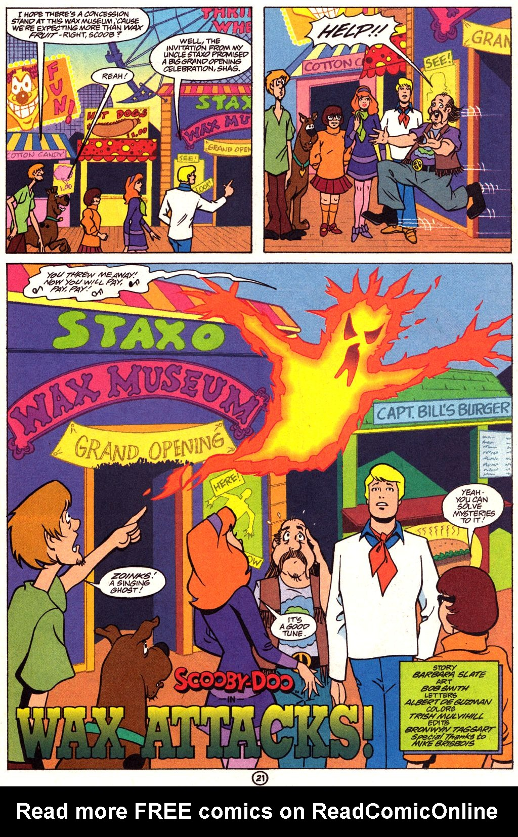 Read online Scooby-Doo (1997) comic -  Issue #3 - 16