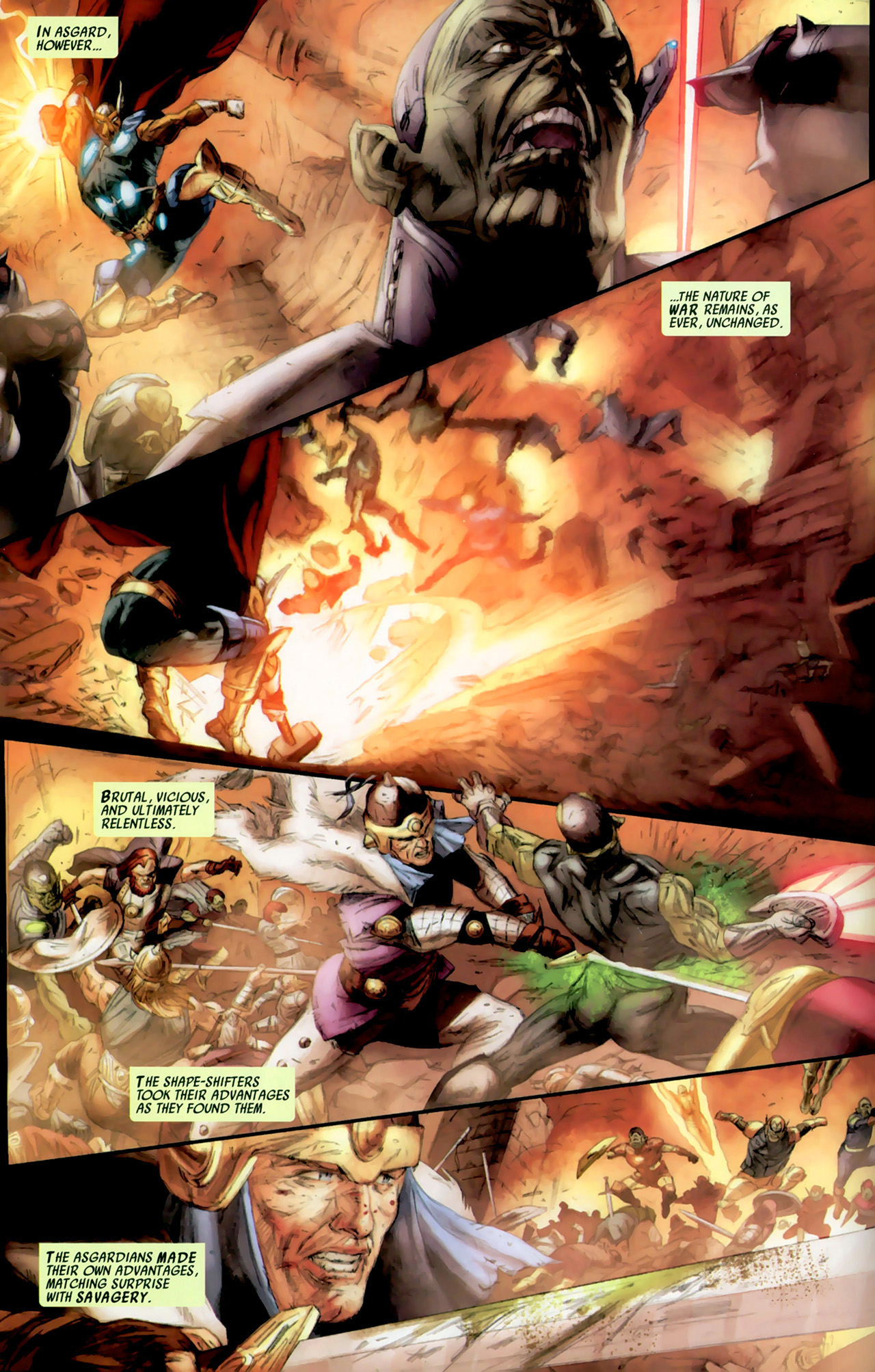 Read online Secret Invasion: Thor comic -  Issue #2 - 8