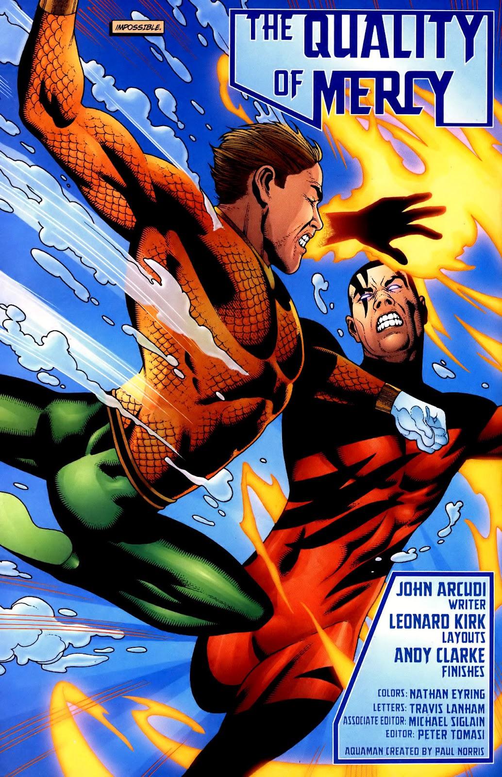 Aquaman (2003) Issue #34 #34 - English 3