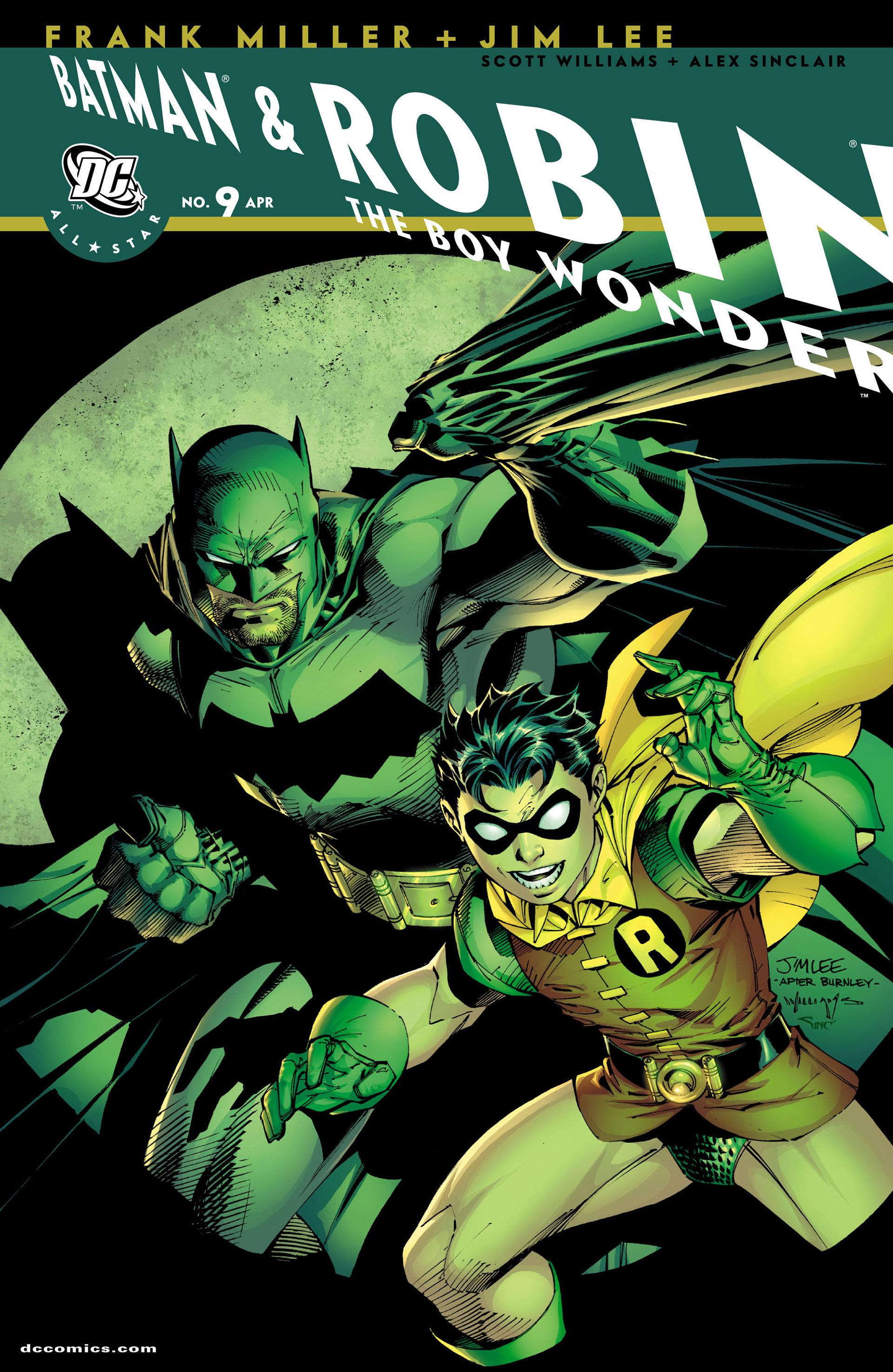 All Star Batman & Robin, The Boy Wonder 9 Page 1