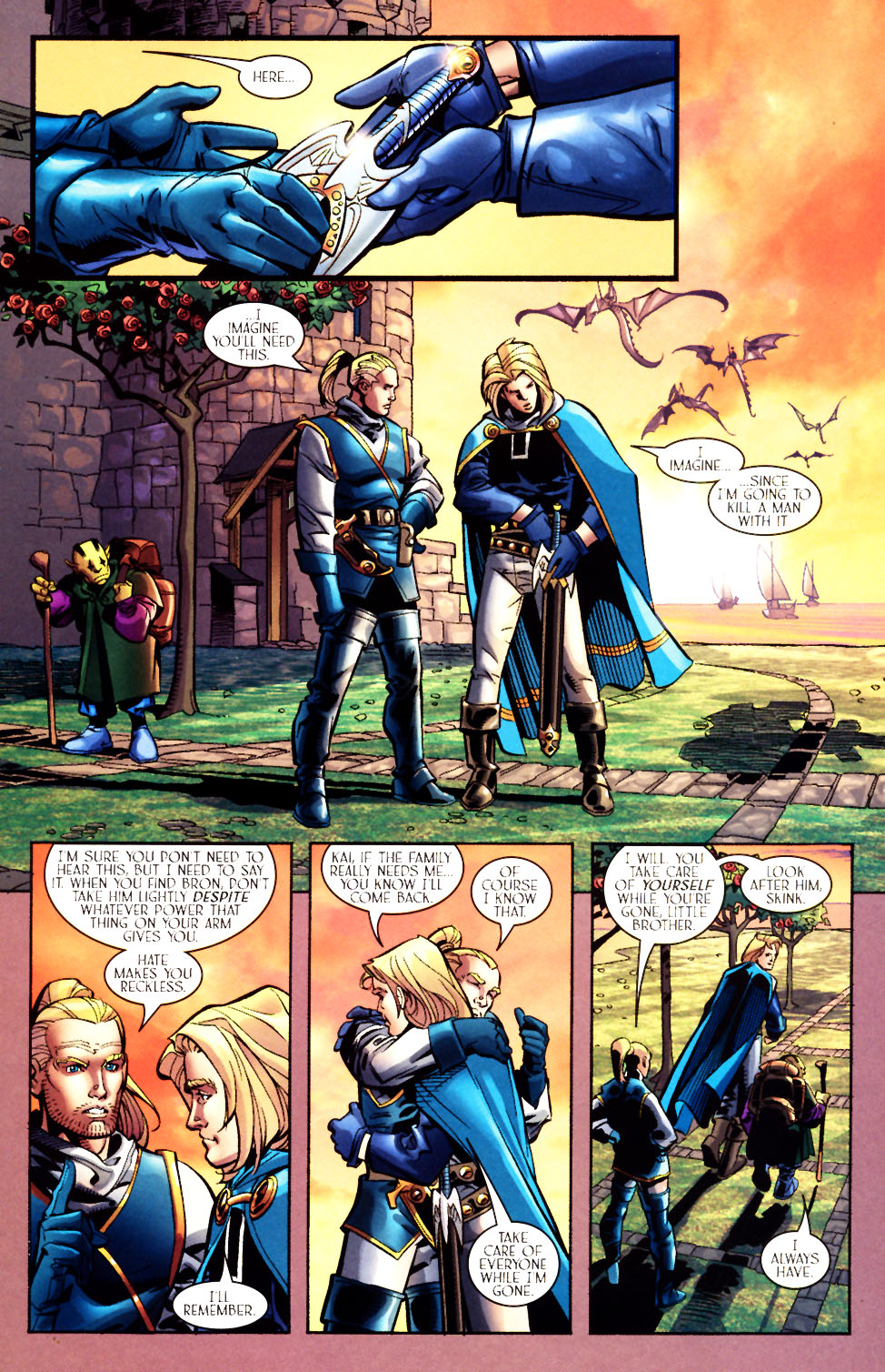Read online Scion comic -  Issue #7 - 21