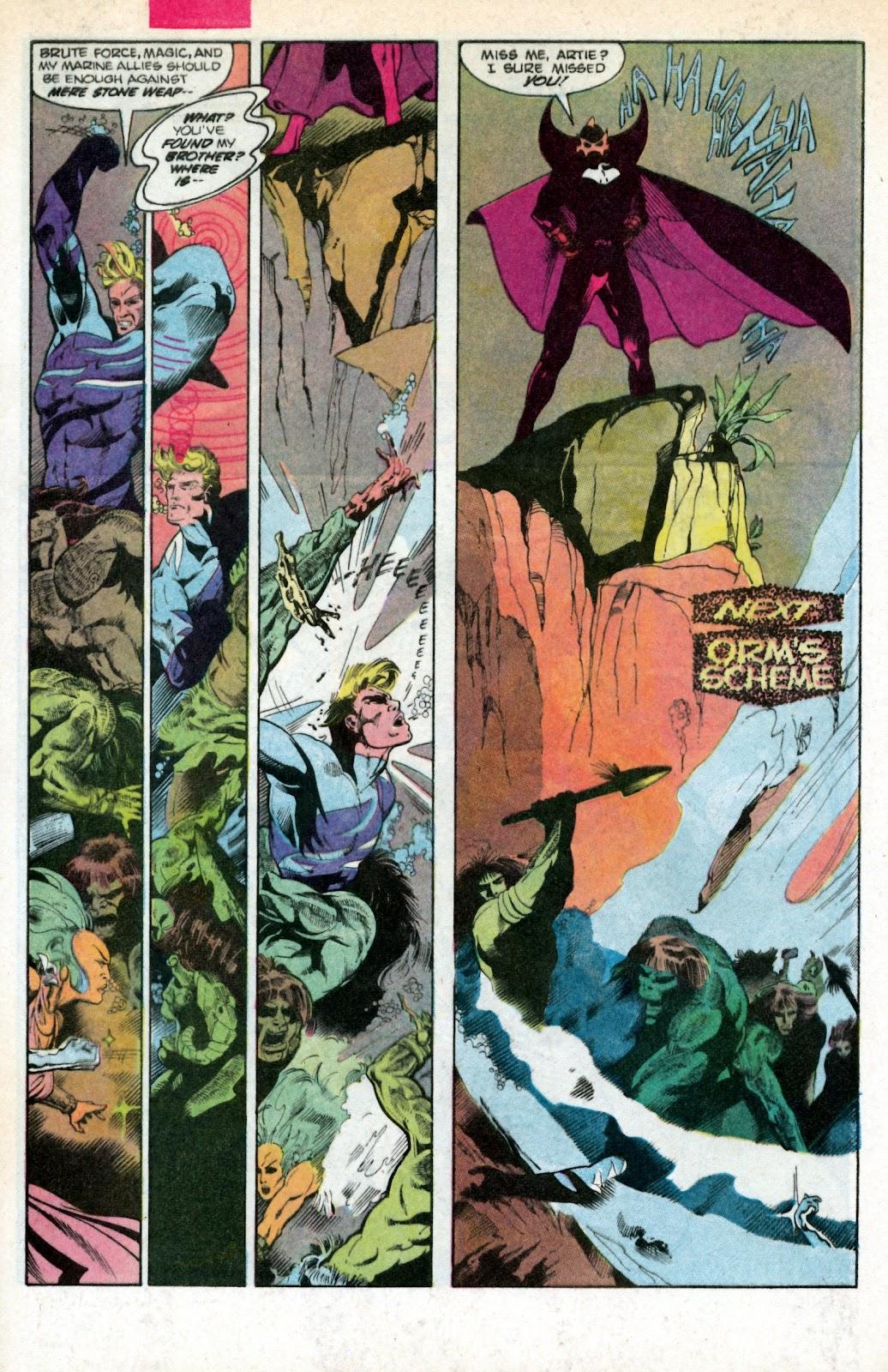 Aquaman (1986) Issue #2 #2 - English 32