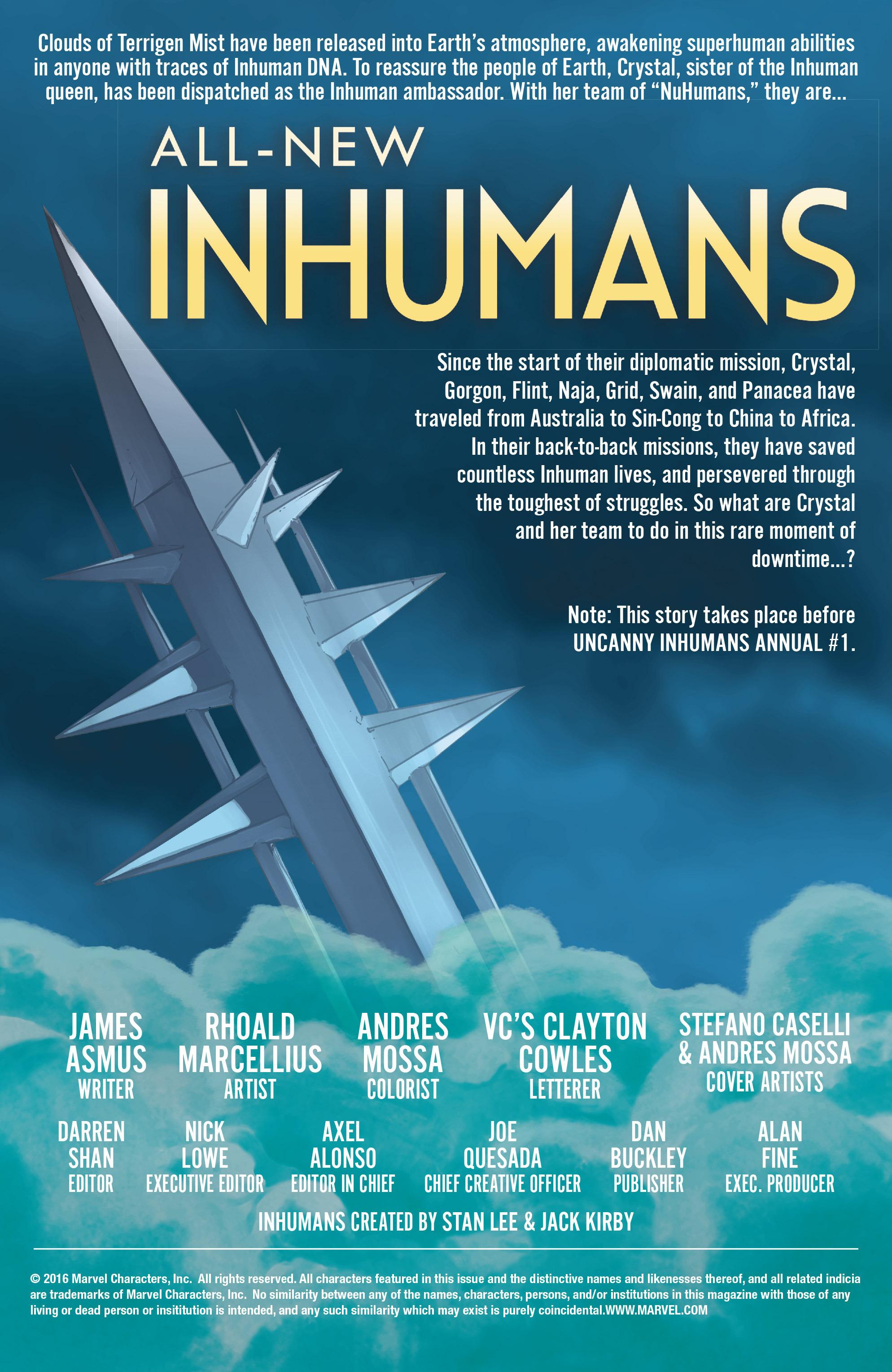 All-New Inhumans #11 #11 - English 2