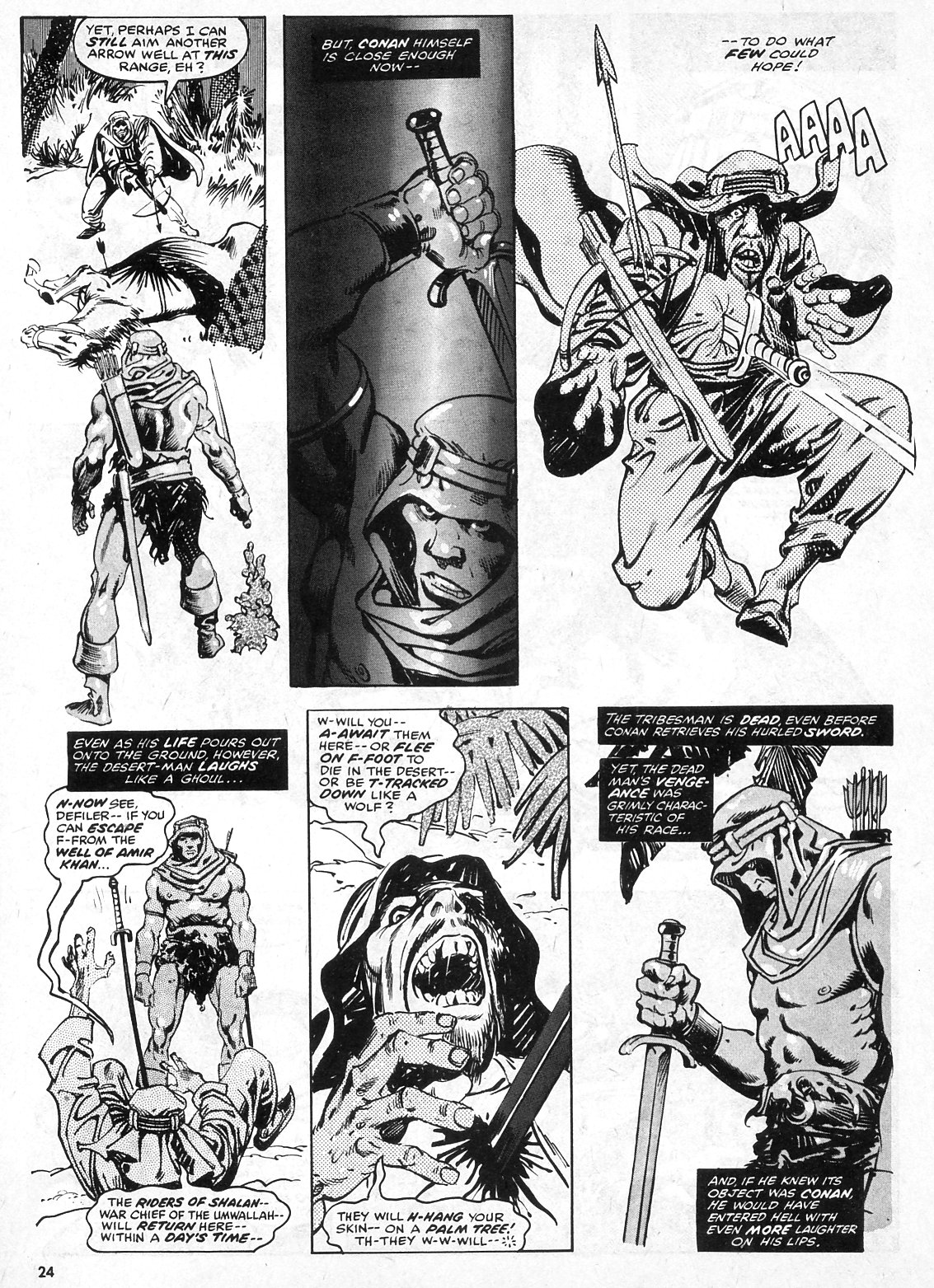 The Savage Sword Of Conan Issue #28 #29 - English 24