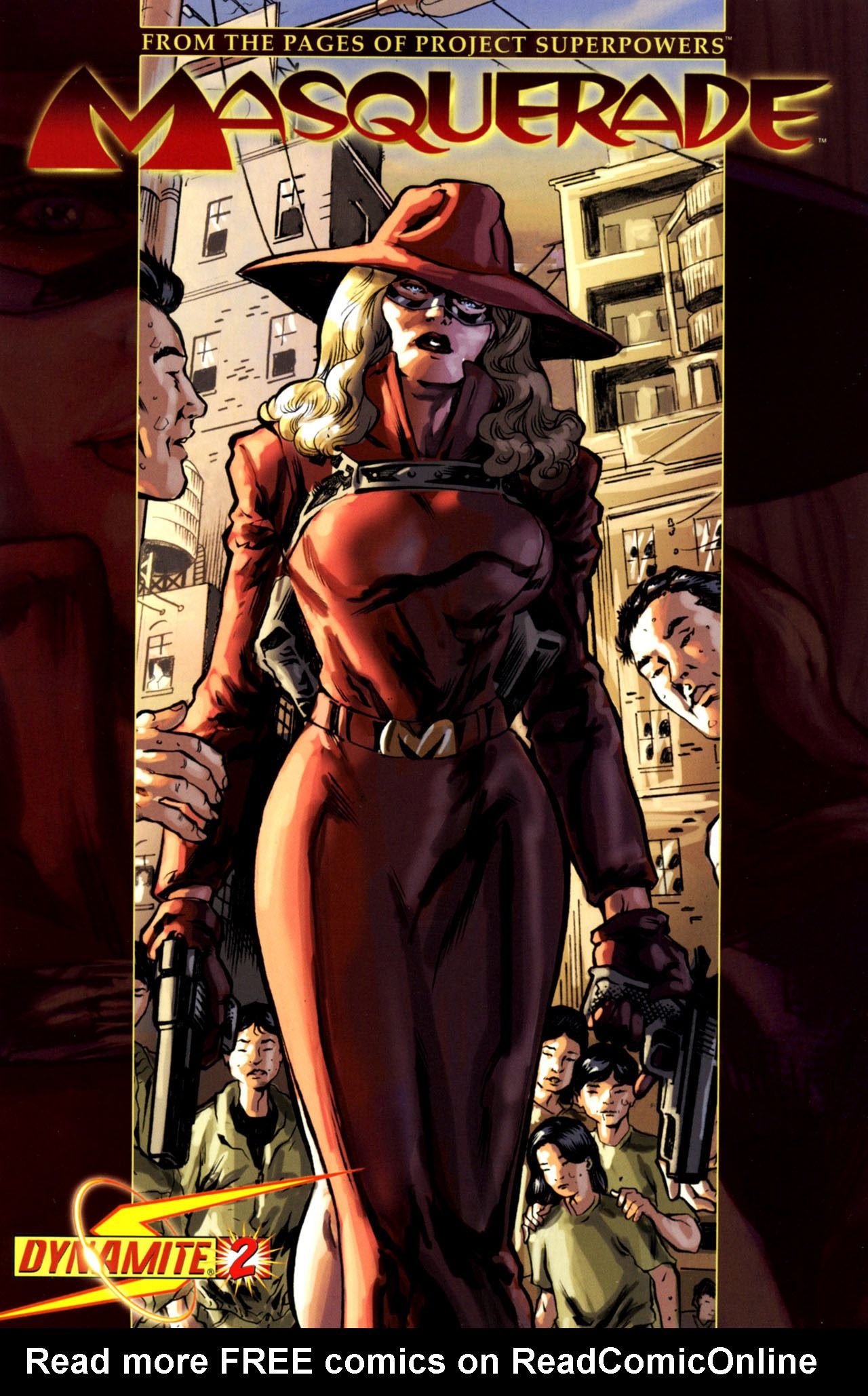 Read online Masquerade comic -  Issue #2 - 4