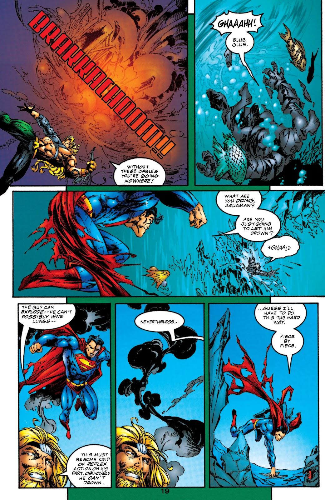 Aquaman (1994) Issue #53 #59 - English 20