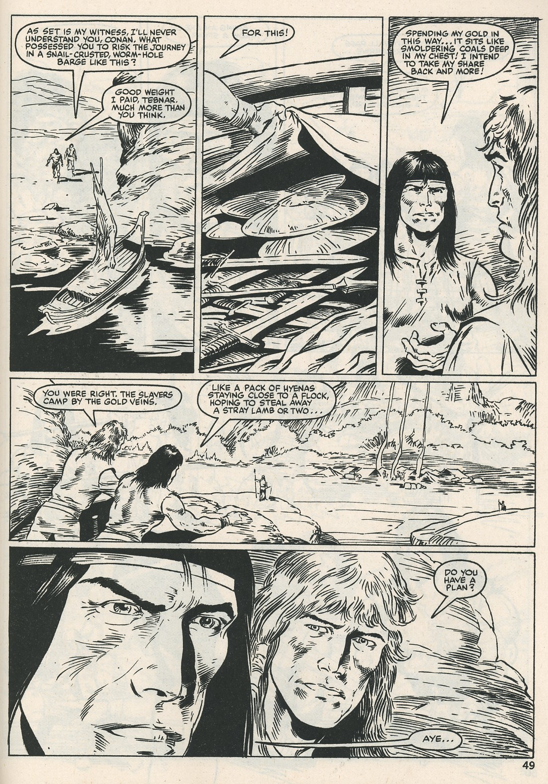 The Savage Sword Of Conan Issue #115 #116 - English 49