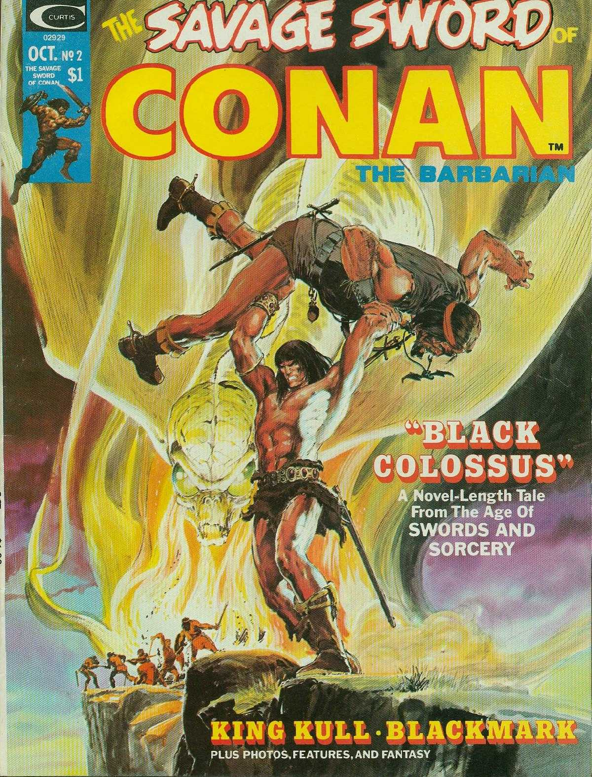 The Savage Sword Of Conan Issue #2 #3 - English 1