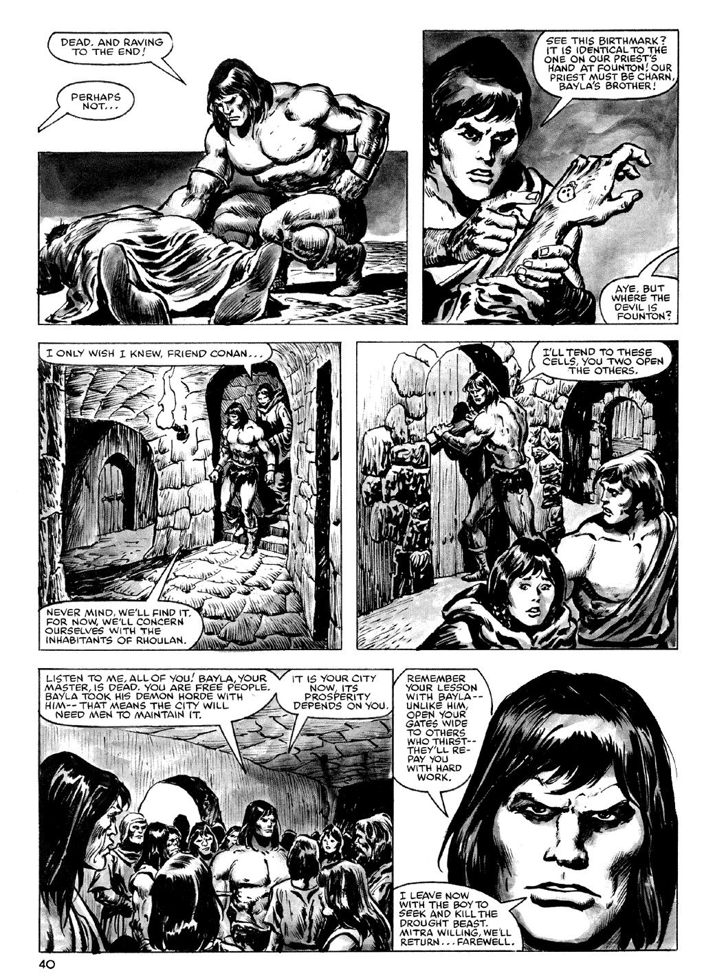 Of Conan  #164 - English 40