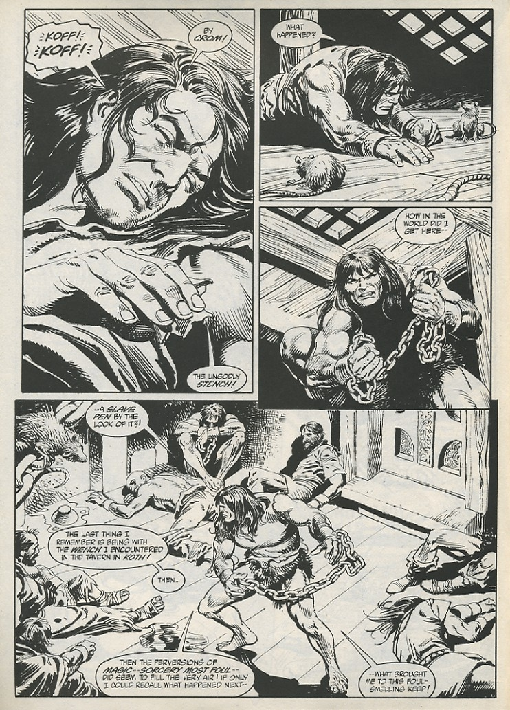 The Savage Sword Of Conan Issue #189 #190 - English 4