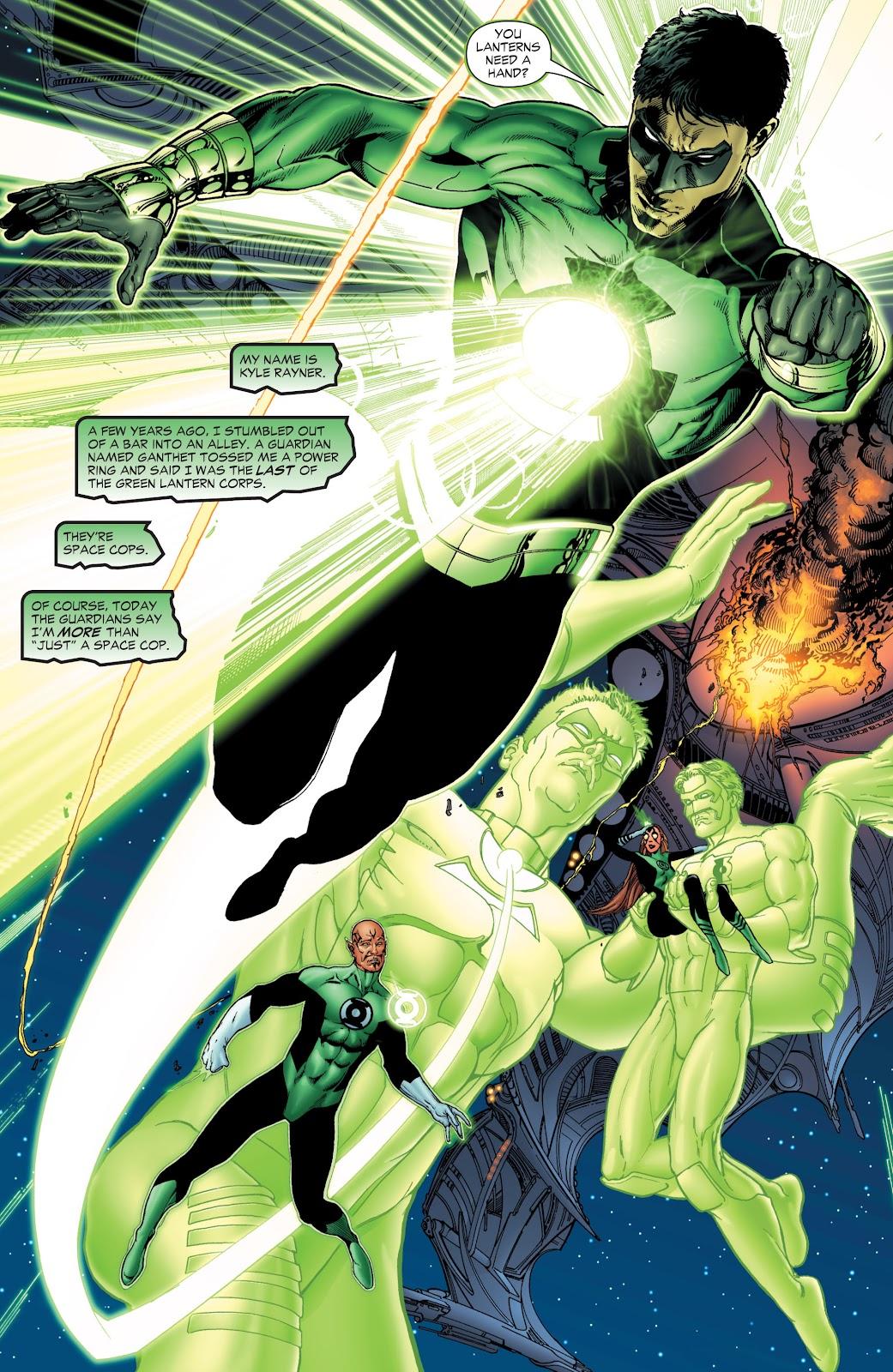 Green Lantern: The Sinestro Corps War Full #1 - English 16
