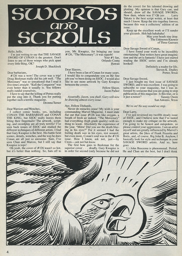 The Savage Sword Of Conan Issue #131 #132 - English 4