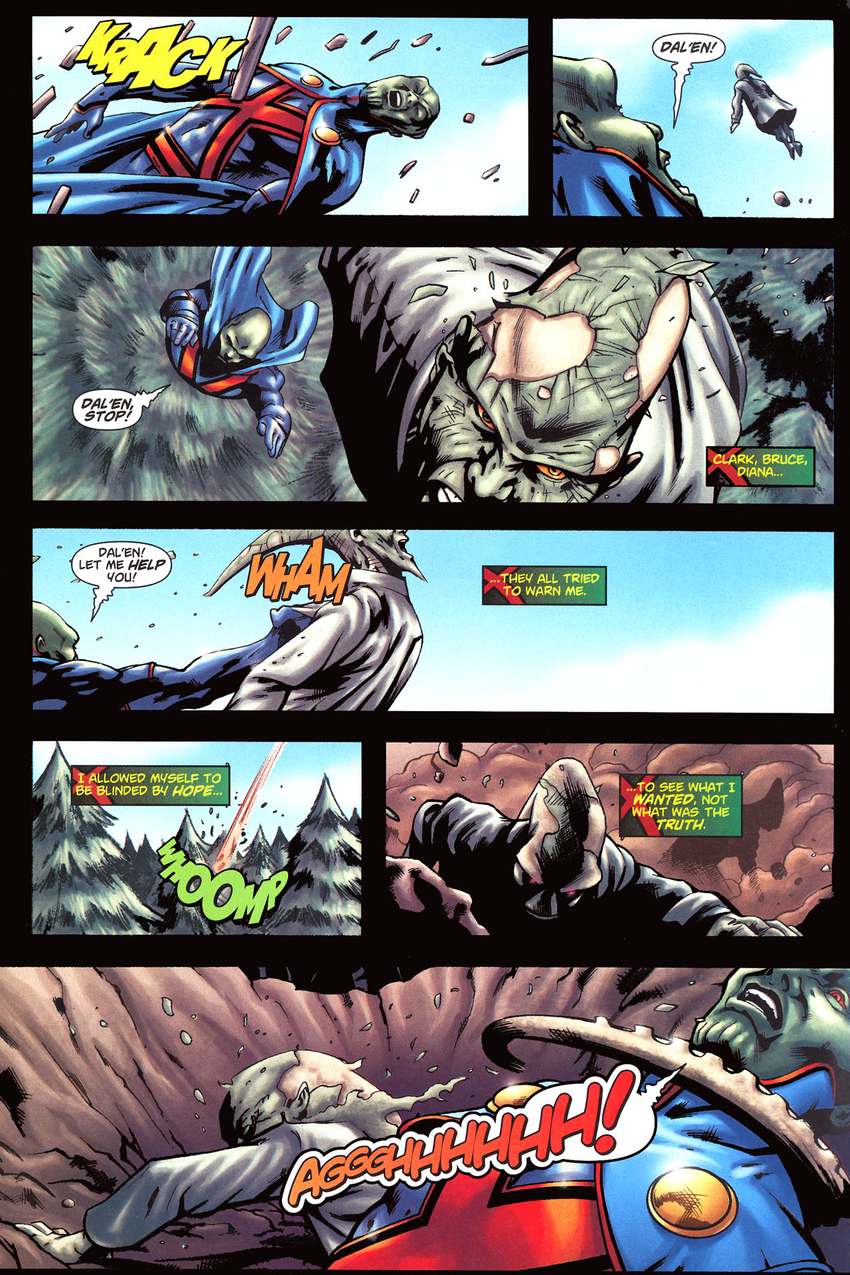 Read online Martian Manhunter (2006) comic -  Issue #6 - 22