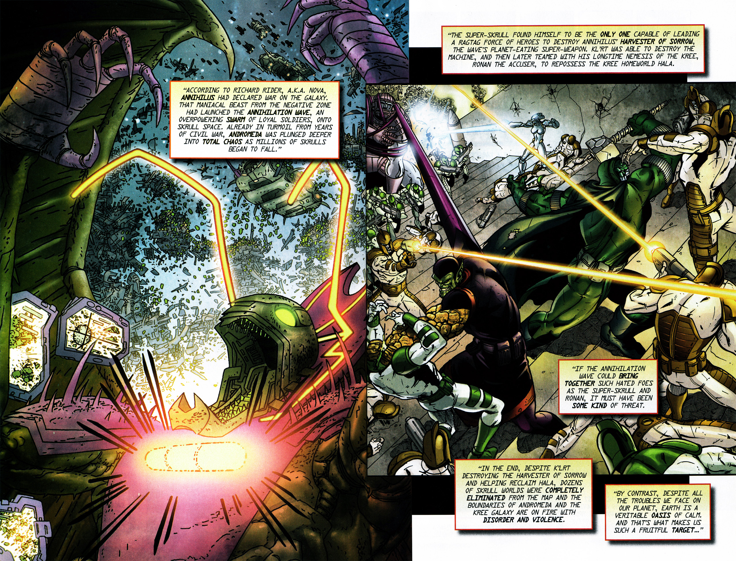 Read online Secret Invasion Saga comic -  Issue # Full - 23