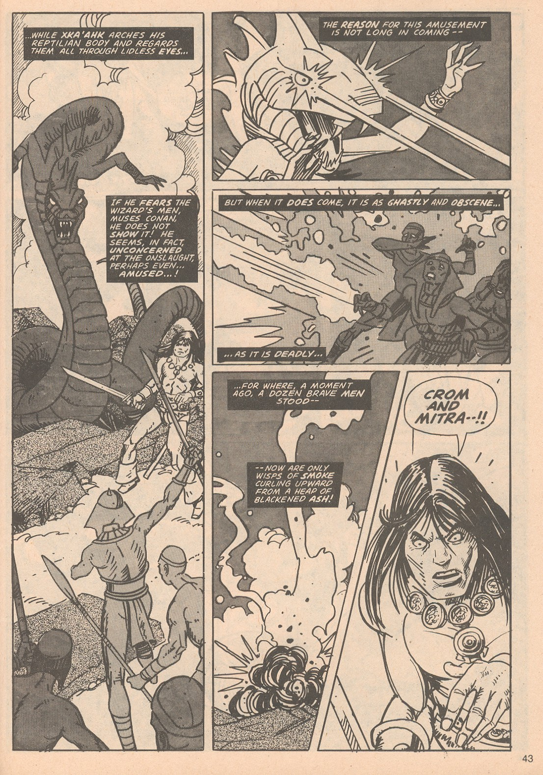 The Savage Sword Of Conan Issue #65 #66 - English 43