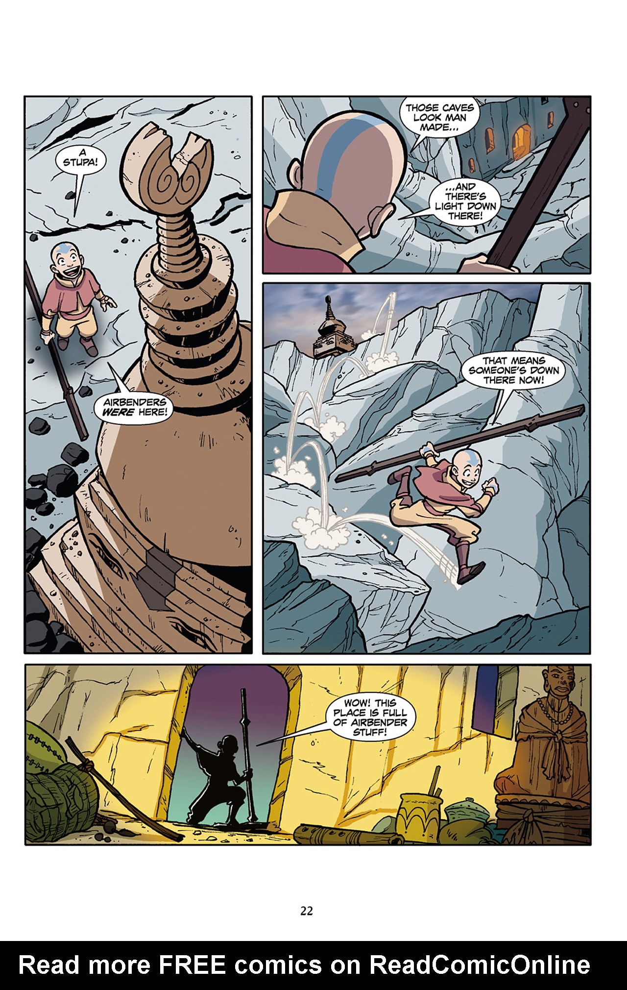 Nickelodeon Avatar: The Last Airbender - The Lost Adventures chap full pic 23