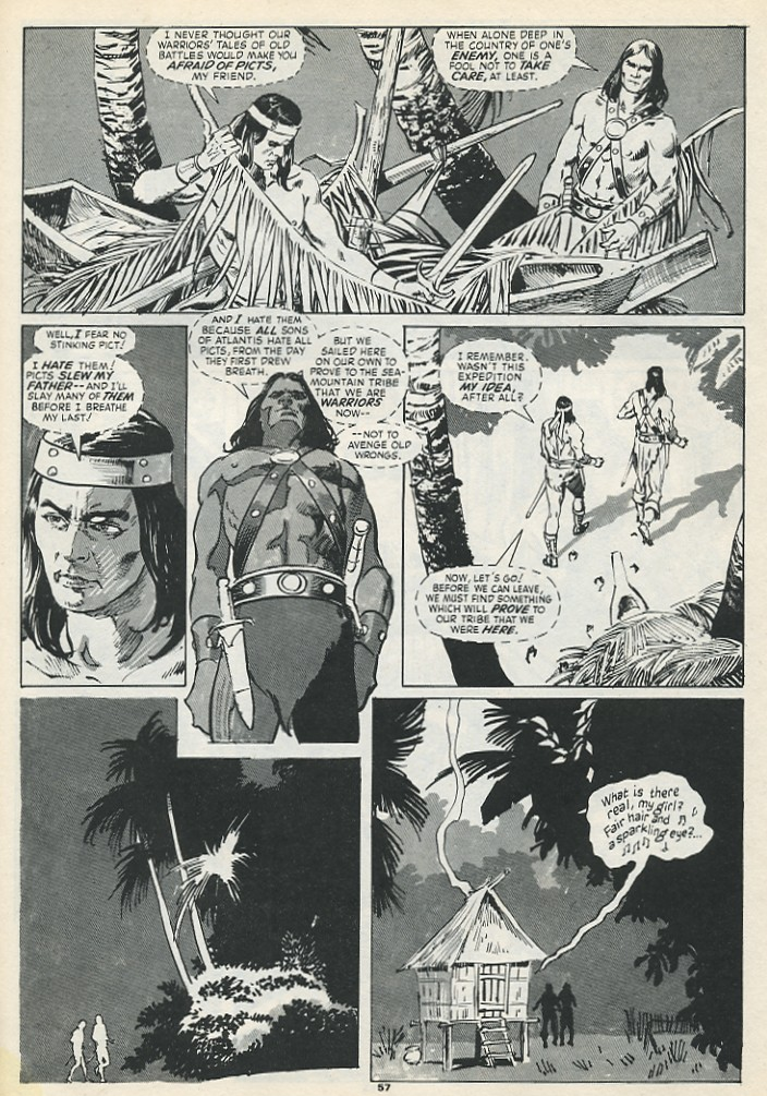 The Savage Sword Of Conan Issue #193 #194 - English 59