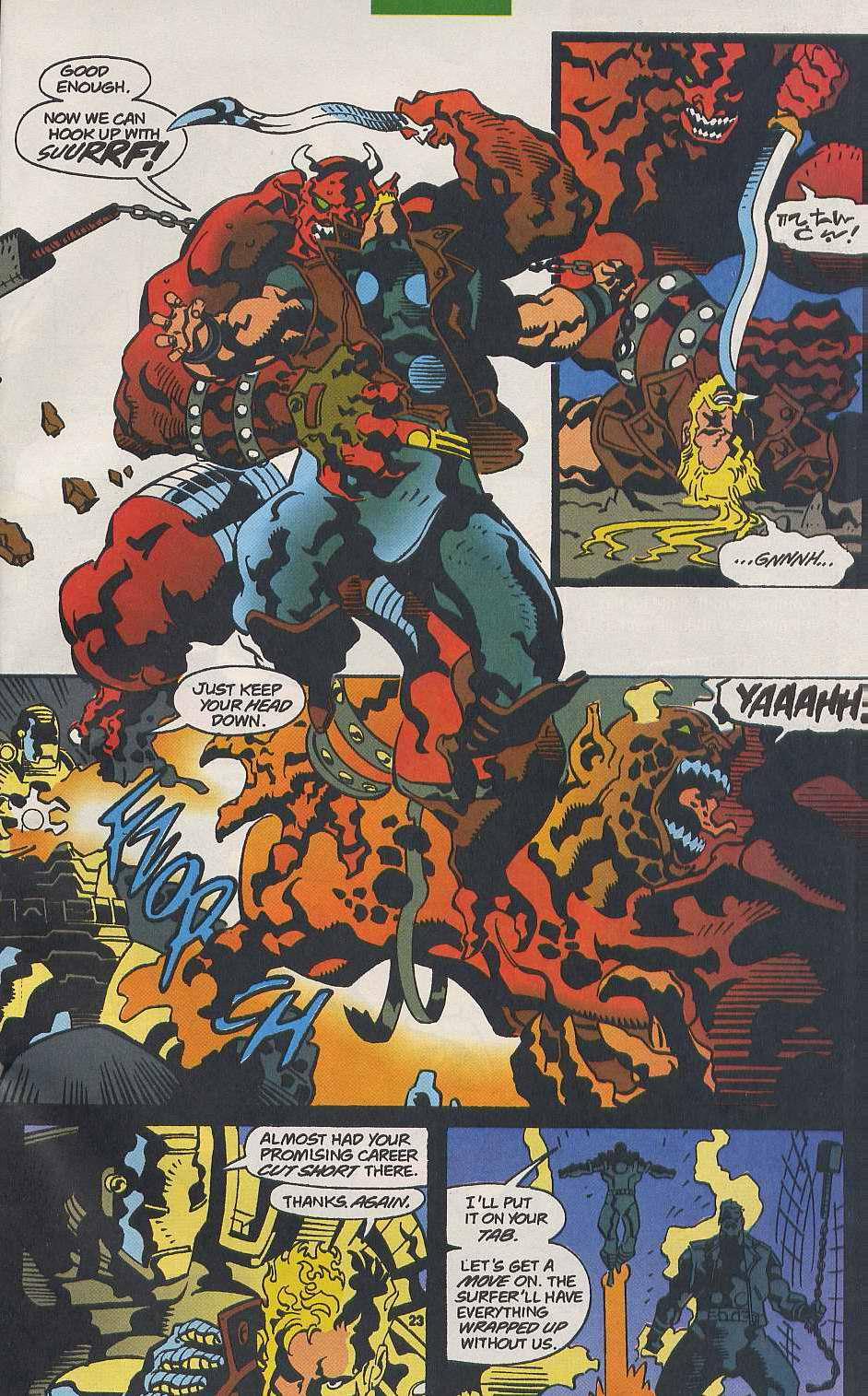 Read online Secret Defenders comic -  Issue #9 - 19