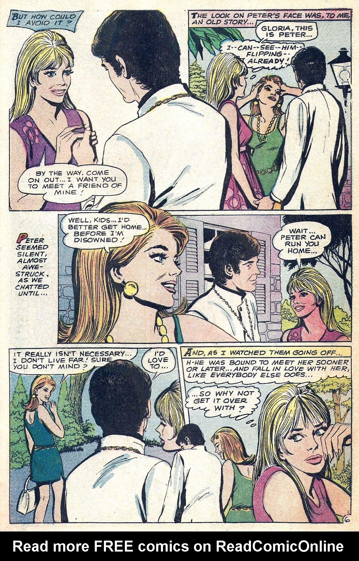 Read online Secret Hearts comic -  Issue #140 - 29