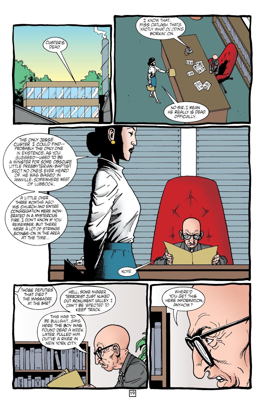 Preacher Issue #43 #52 - English 20
