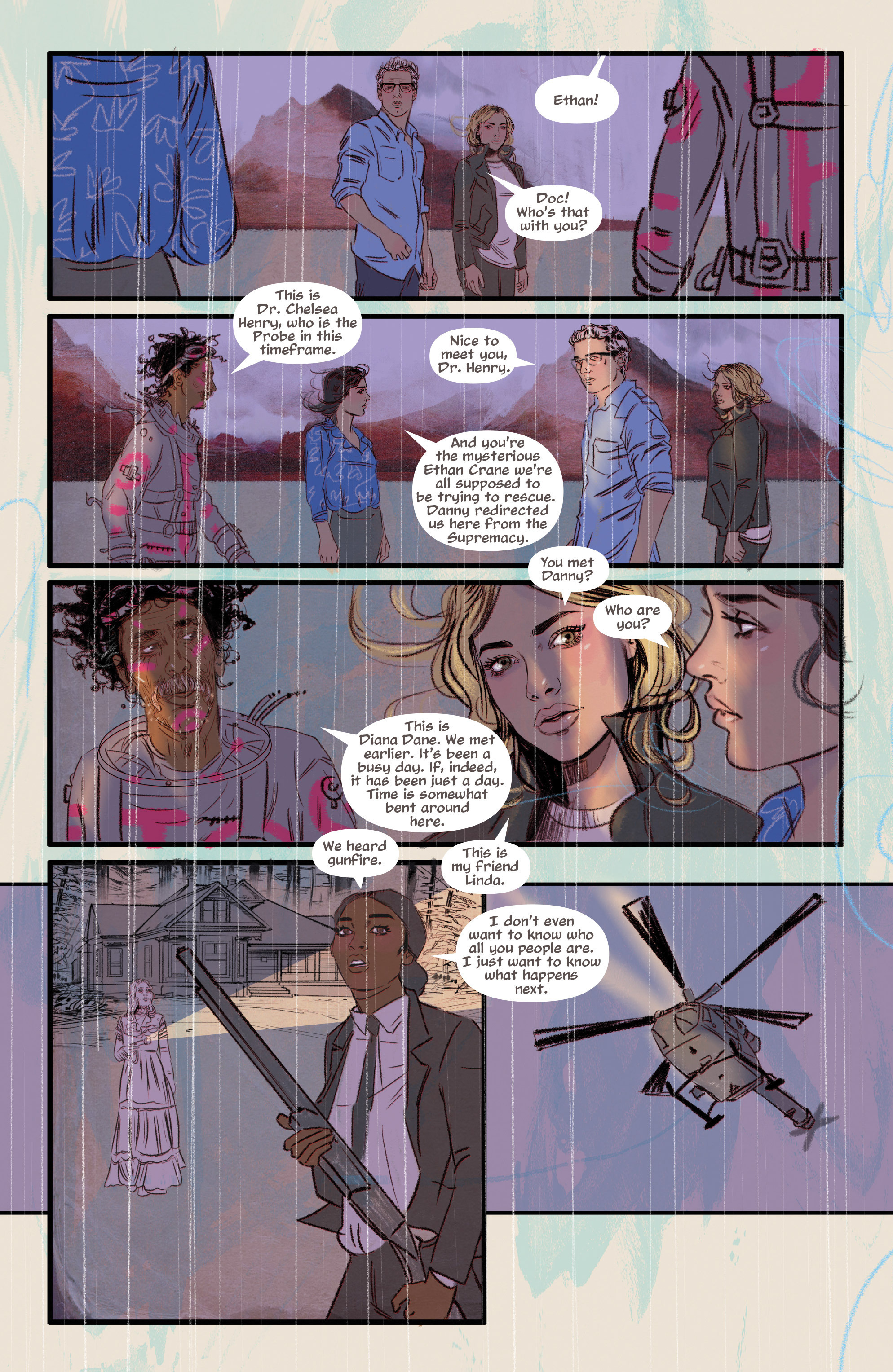 Read online Supreme Blue Rose comic -  Issue #7 - 16