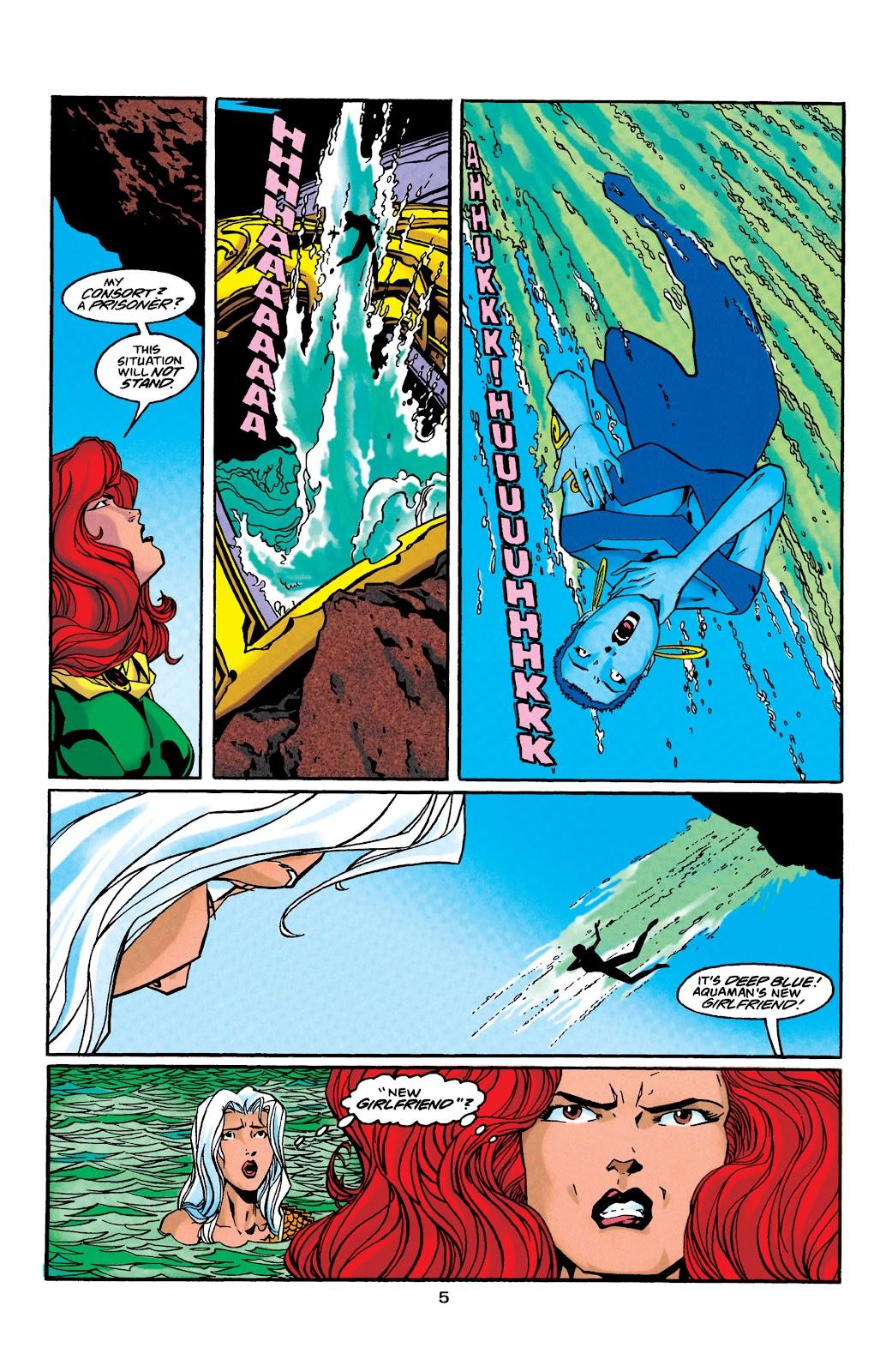 Aquaman (1994) Issue #41 #47 - English 6