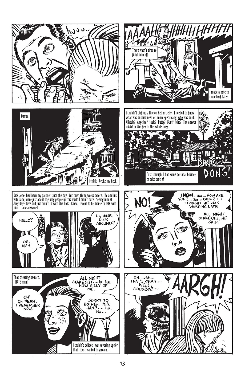 Stray Bullets Issue #18 #18 - English 15