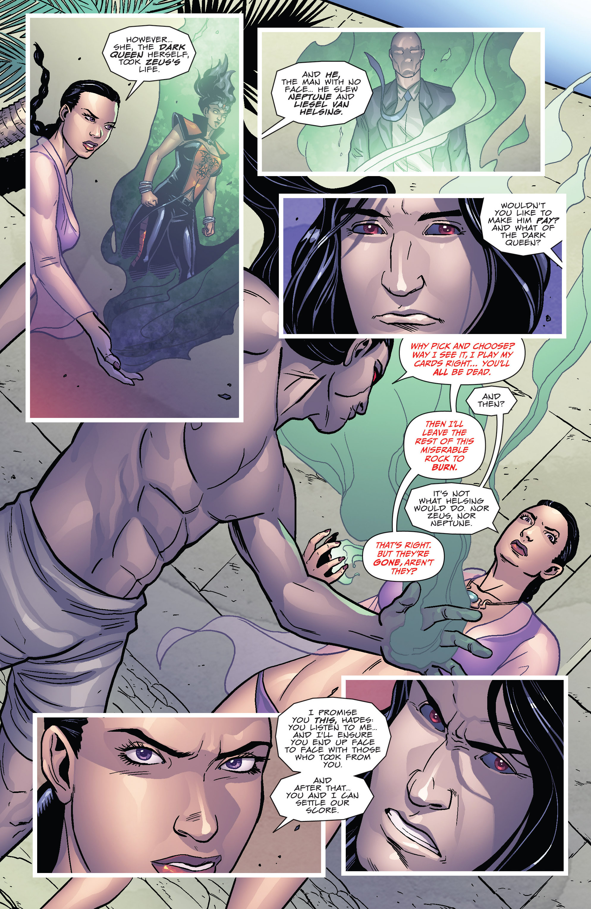 Read online Grimm Fairy Tales presents Cinderella: Age of Darkness comic -  Issue #1 - 12