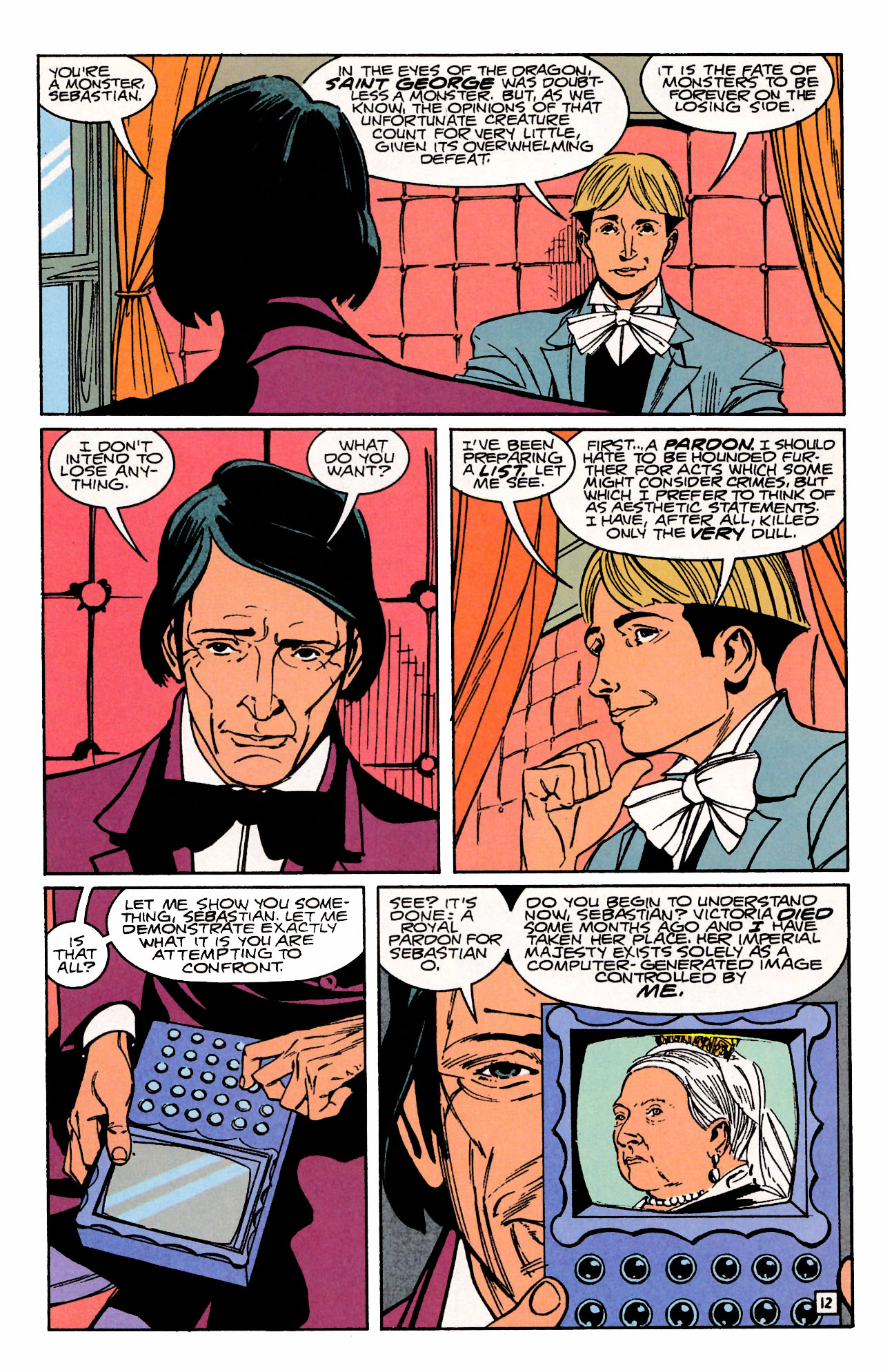 Read online Sebastian O comic -  Issue #3 - 16