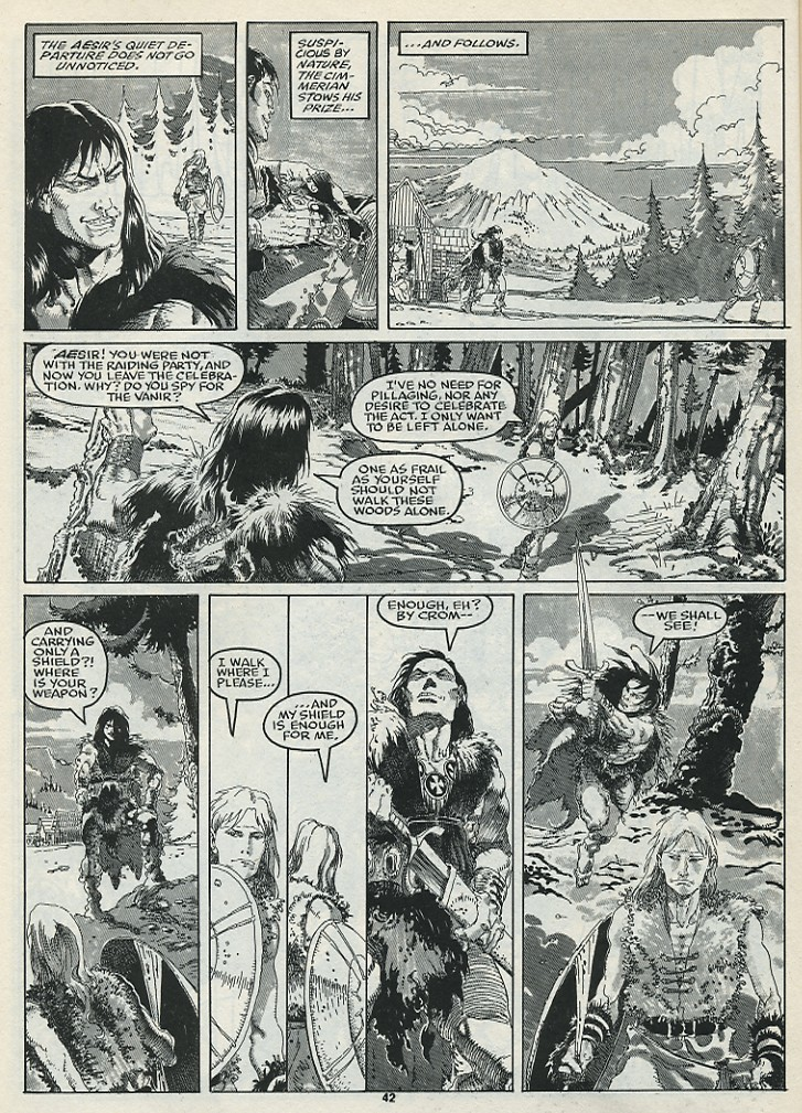 The Savage Sword Of Conan Issue #182 #183 - English 44