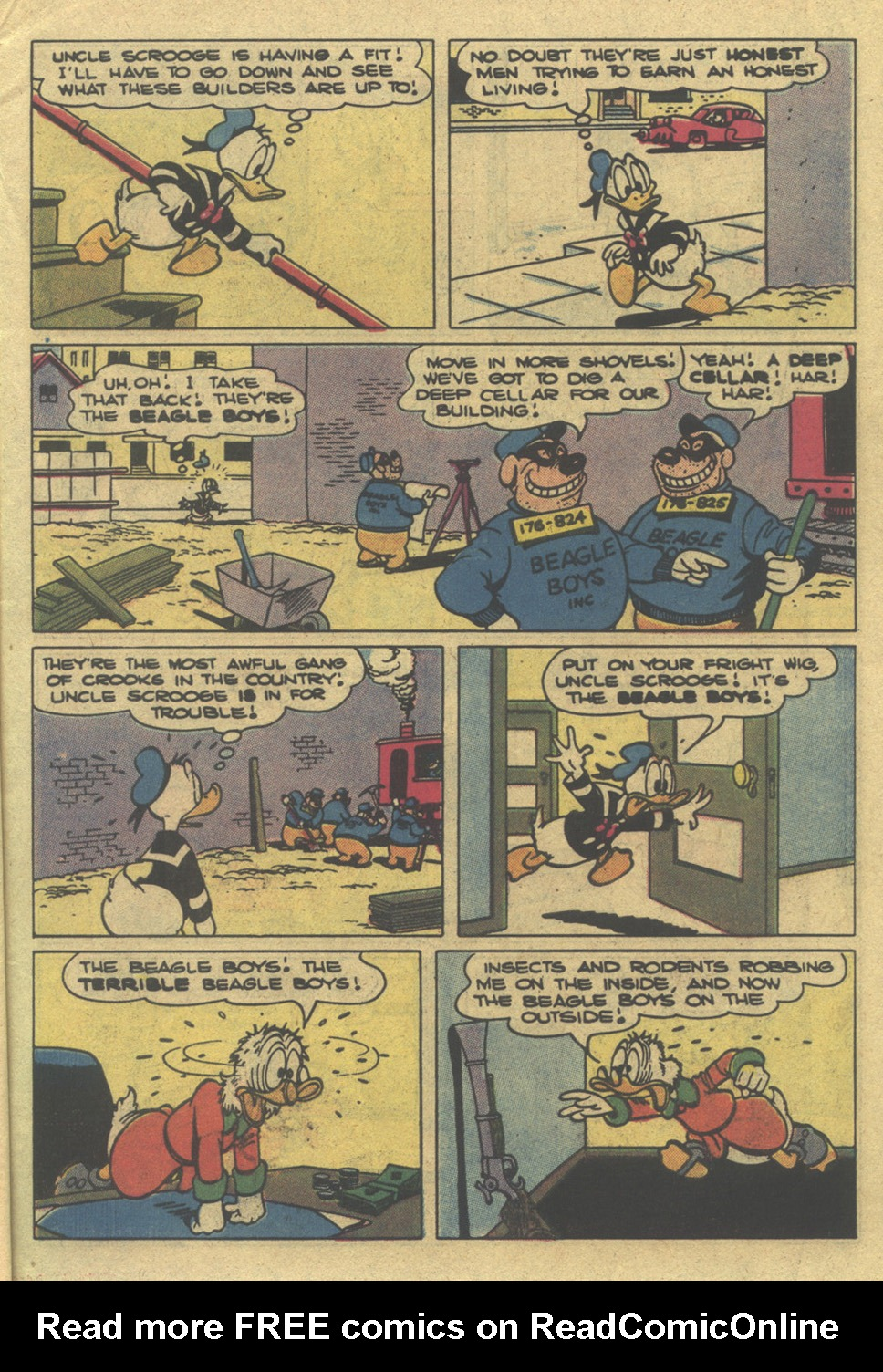 Uncle Scrooge (1953) Issue #195 #195 - English 7