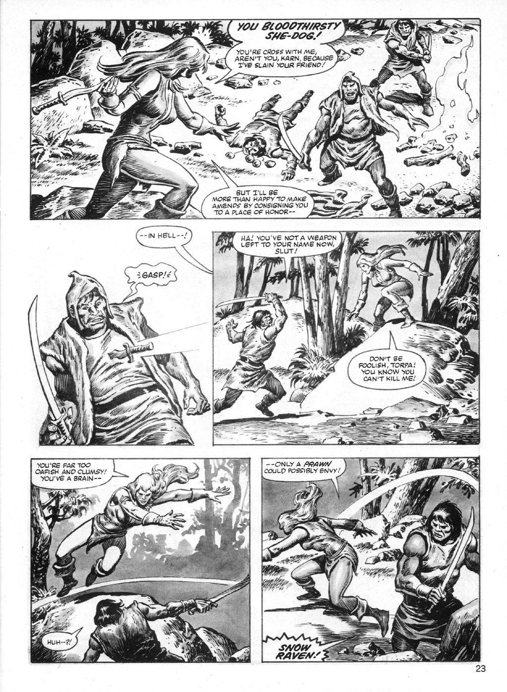 The Savage Sword Of Conan Issue #95 #96 - English 23