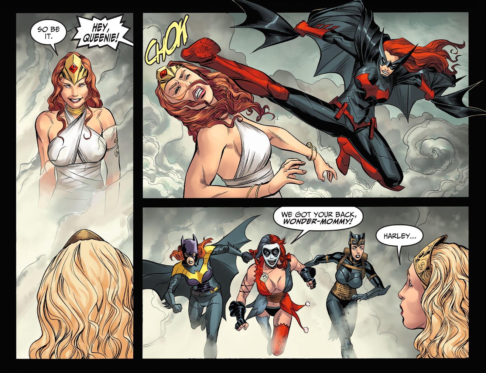 Injustice: Gods Among Us Year Four Issue #23 #24 - English 12