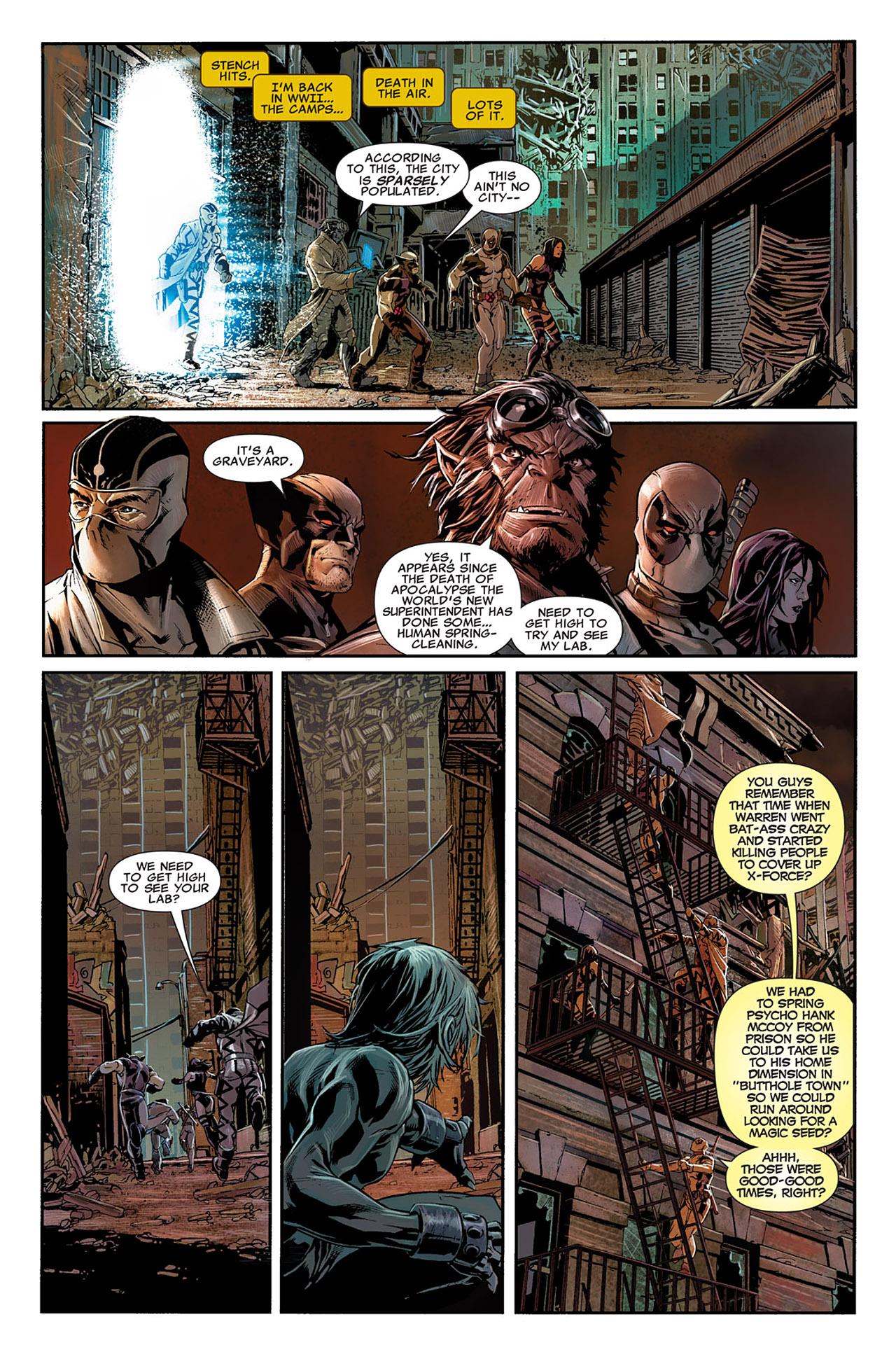 Uncanny X-Force (2010) #11 #26 - English 5