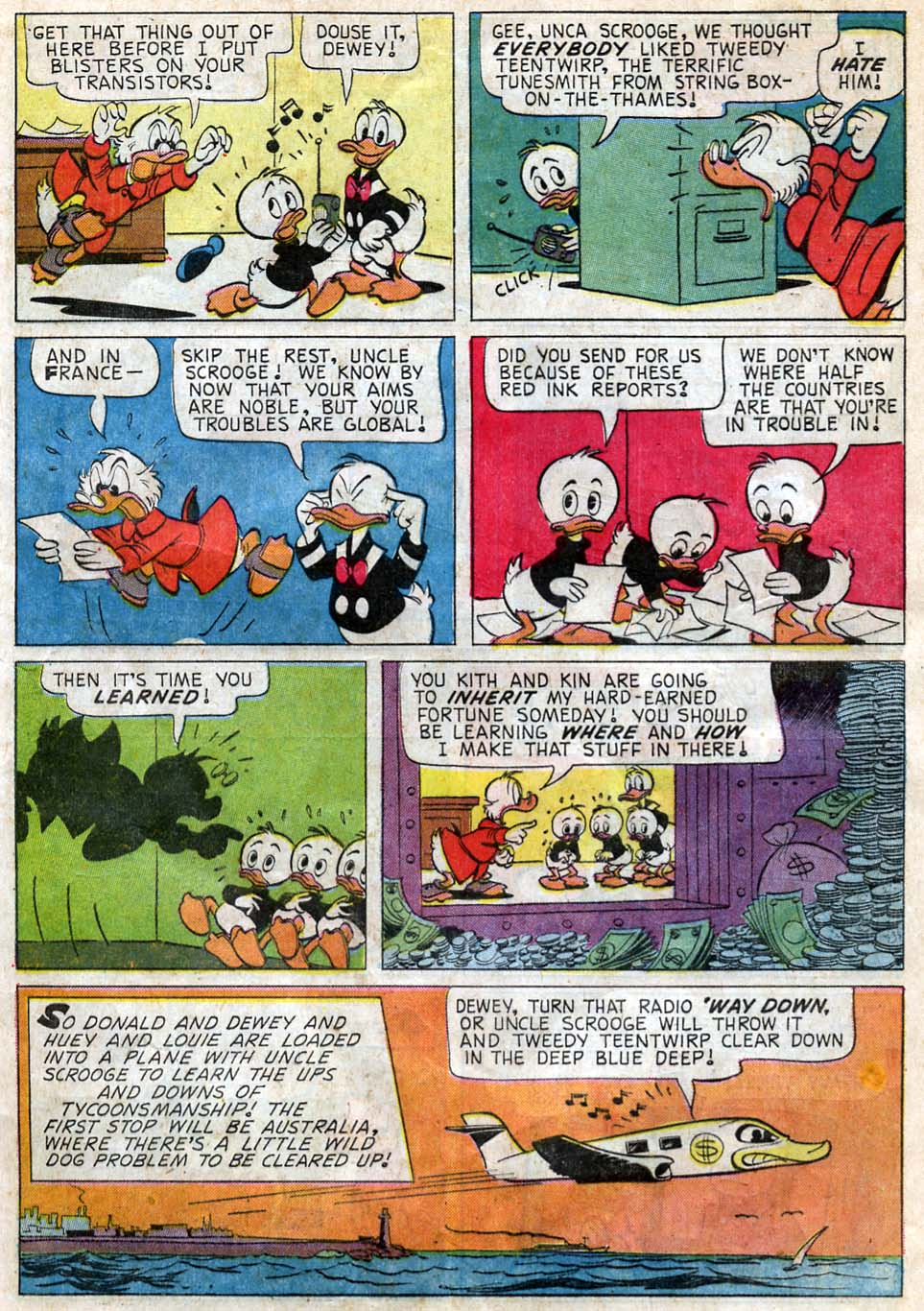 Uncle Scrooge (1953) Issue #62 #62 - English 5