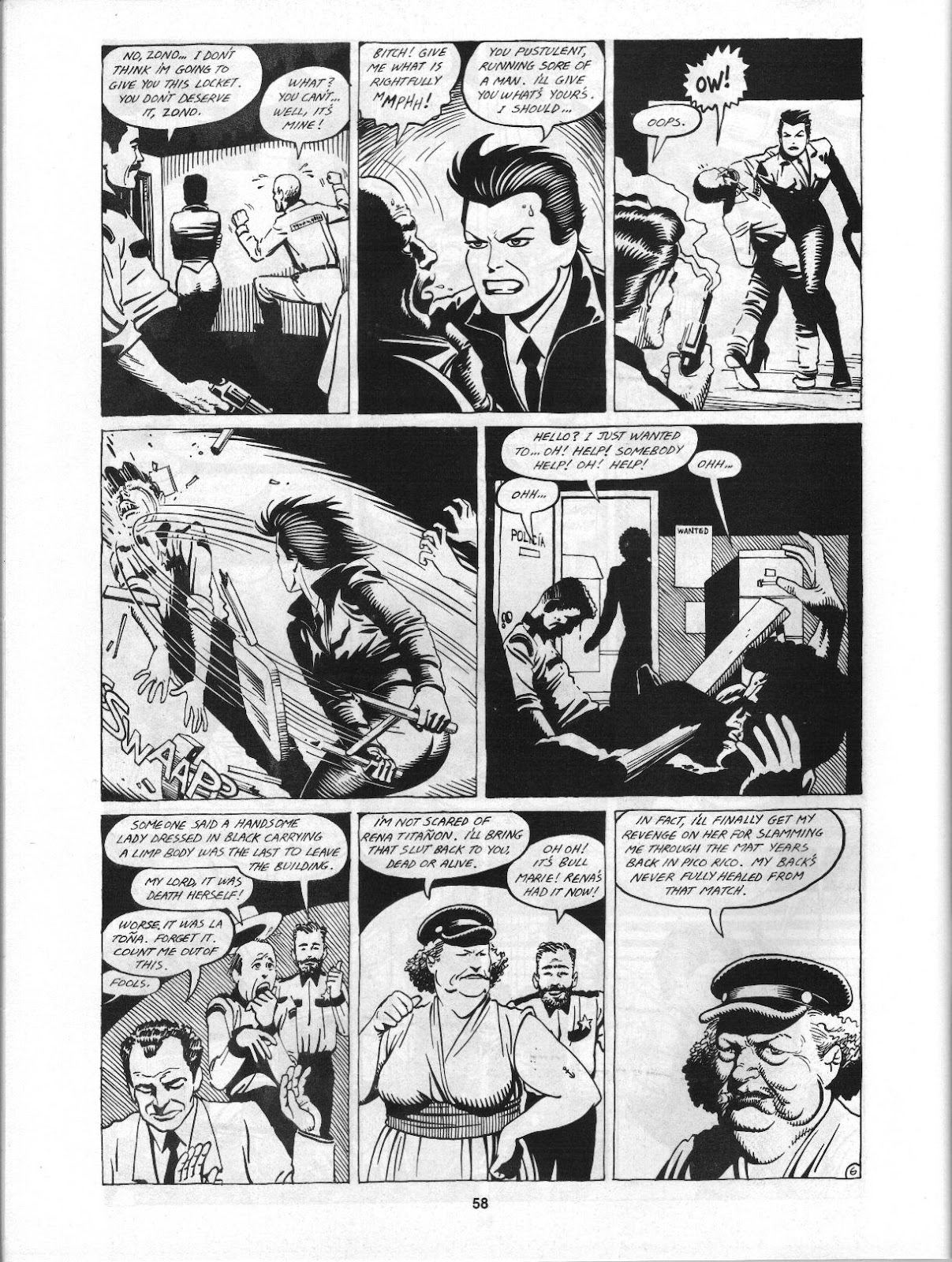 Love and Rockets (1982) Issue #3 #2 - English 60