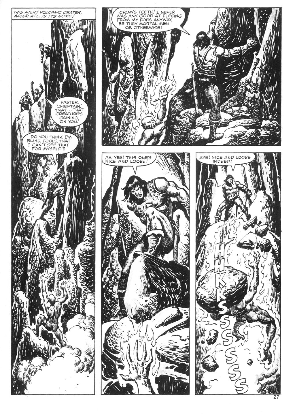 The Savage Sword Of Conan Issue #87 #88 - English 27