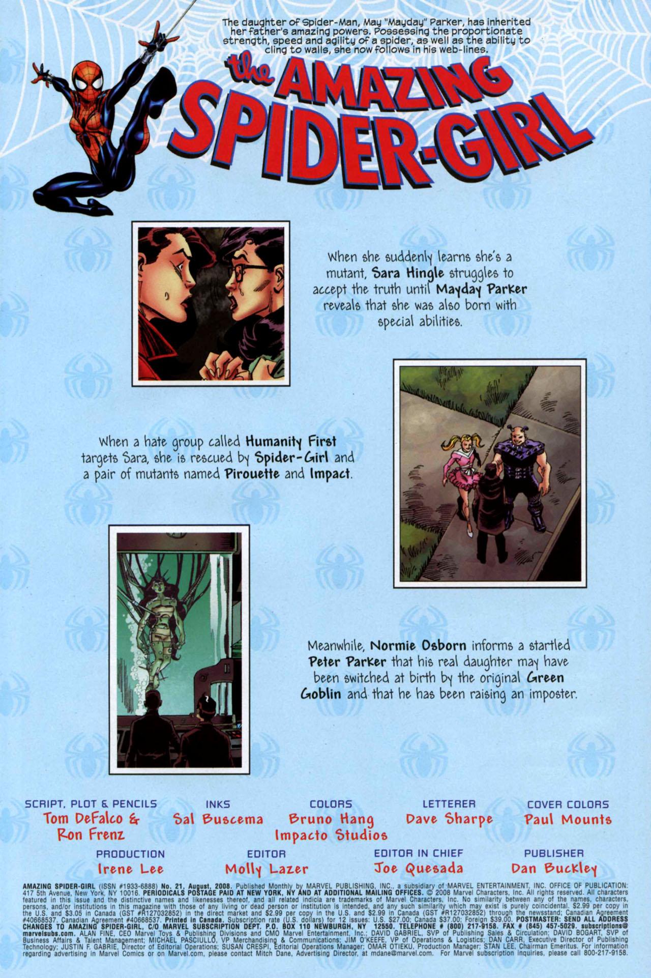 Amazing Spider-Girl #21 #10 - English 2