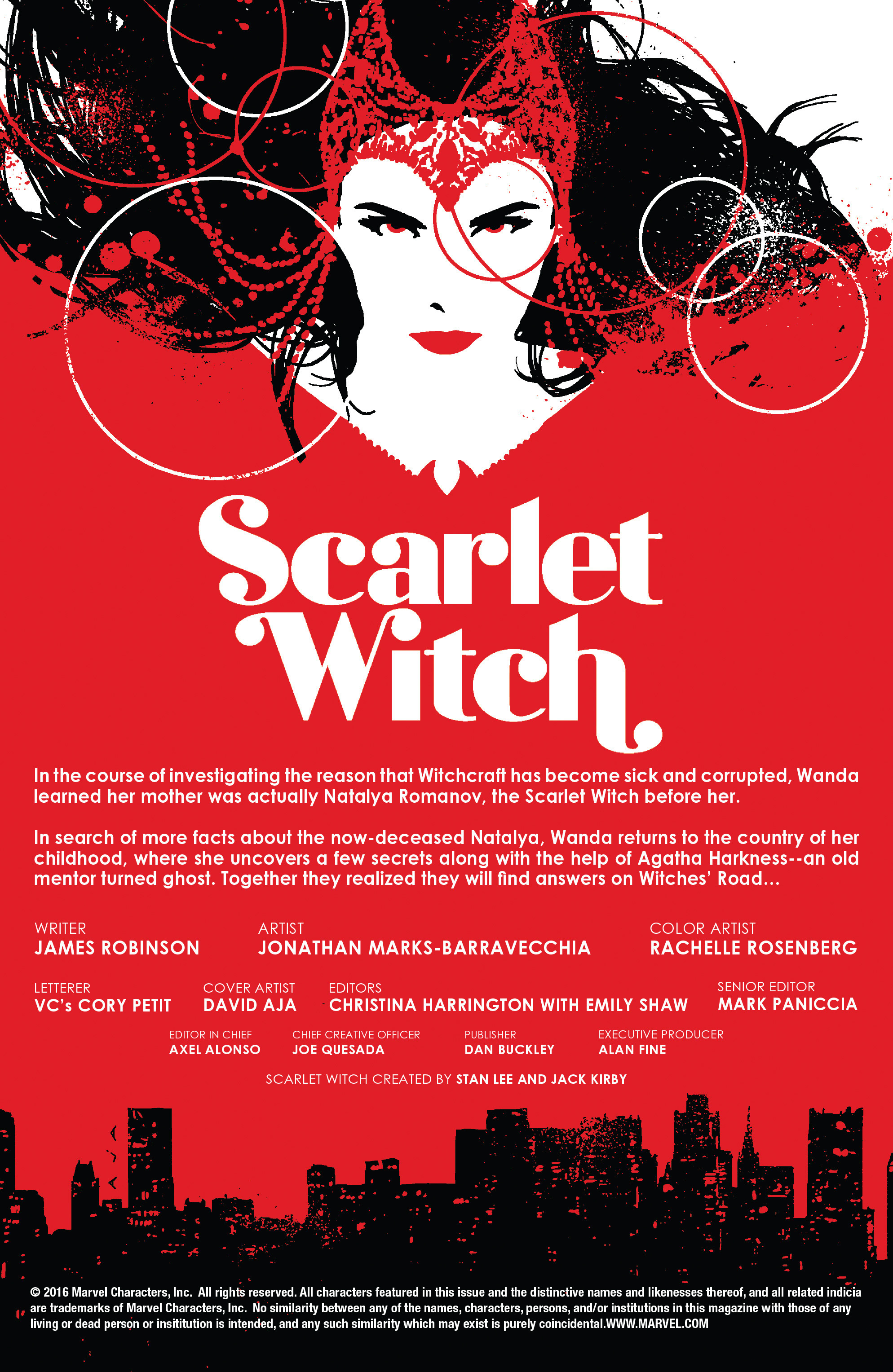 Read online Scarlet Witch (2016) comic -  Issue #13 - 2