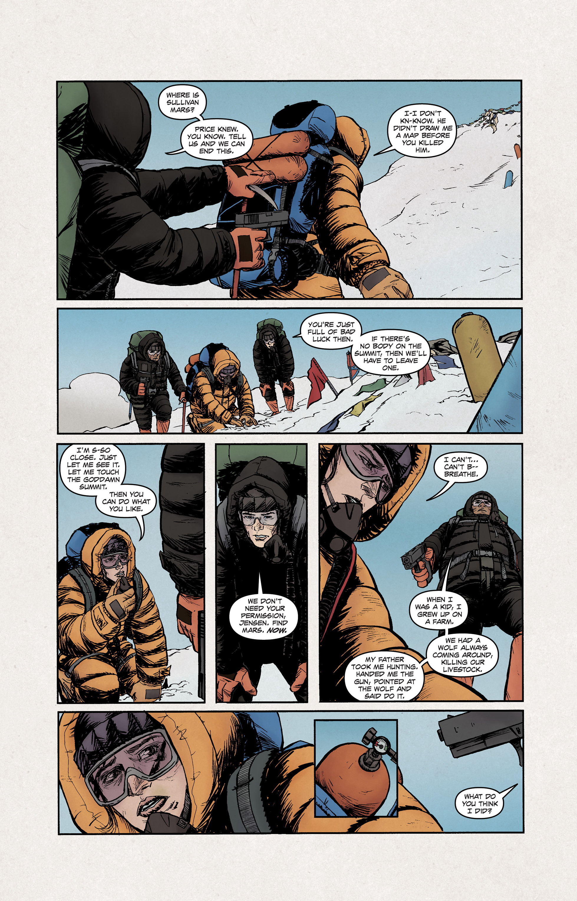 Read online High Crimes comic -  Issue #12 - 4