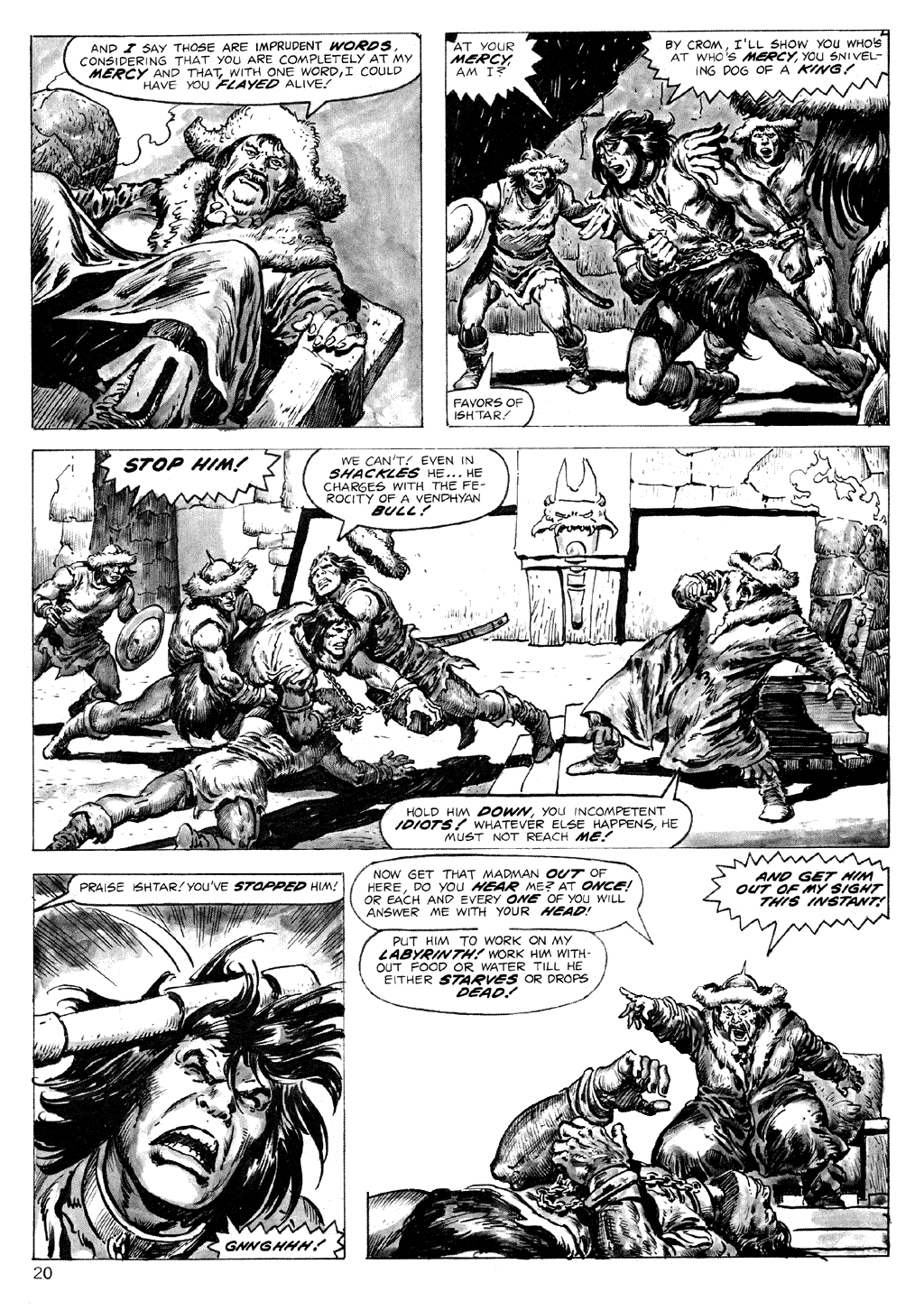 The Savage Sword Of Conan Issue #71 #72 - English 20