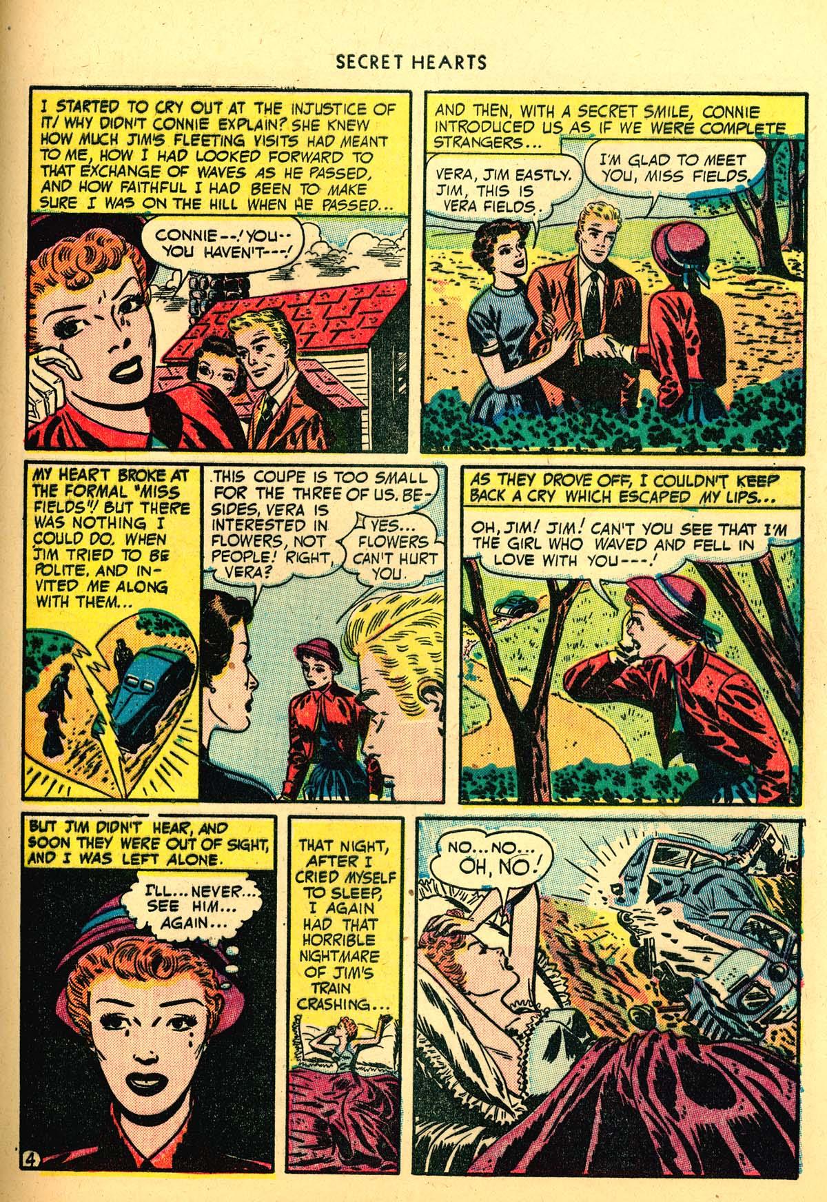 Read online Secret Hearts comic -  Issue #4 - 43