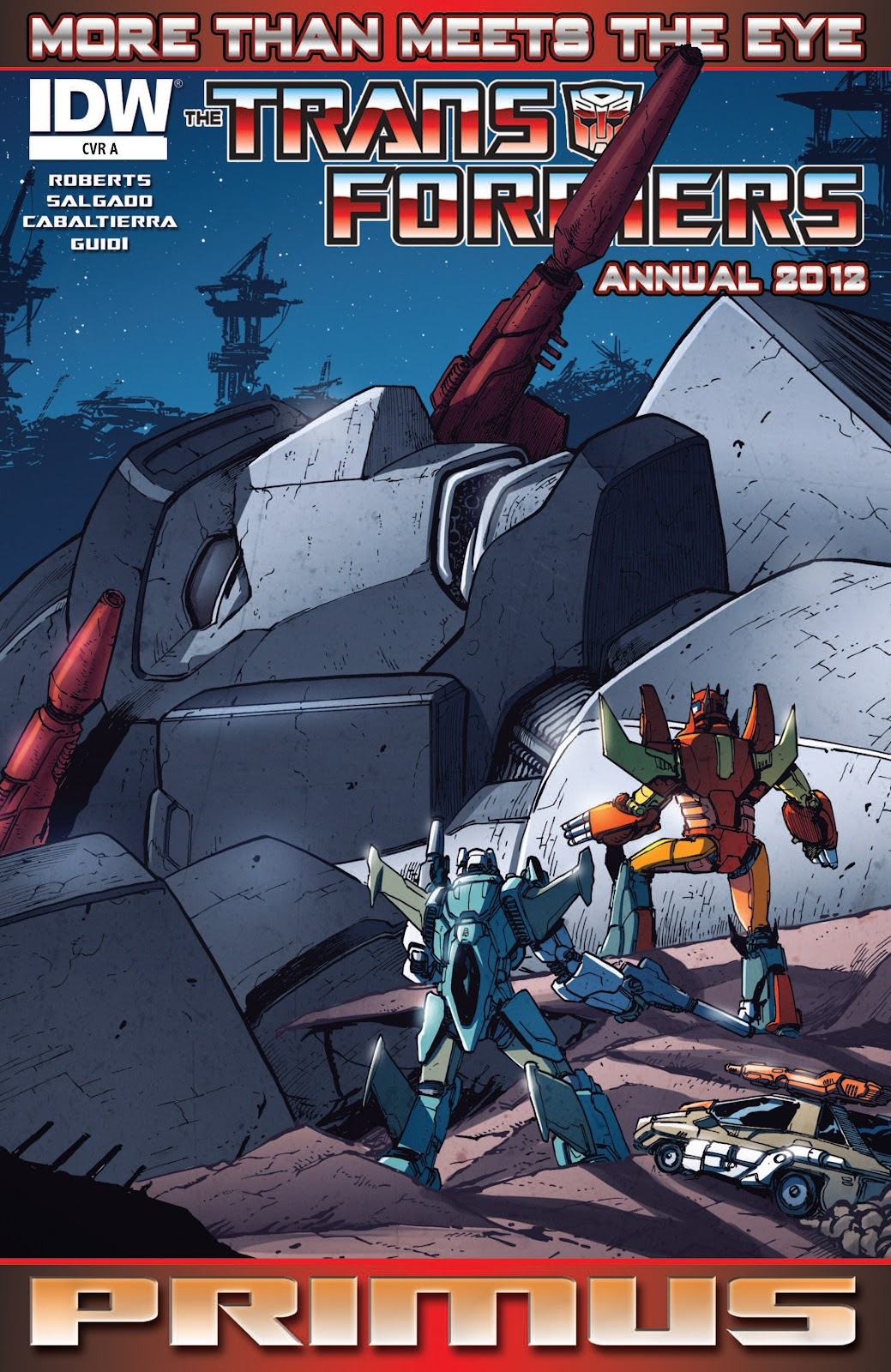 The Transformers: More Than Meets The Eye issue Annual 1 - Page 1
