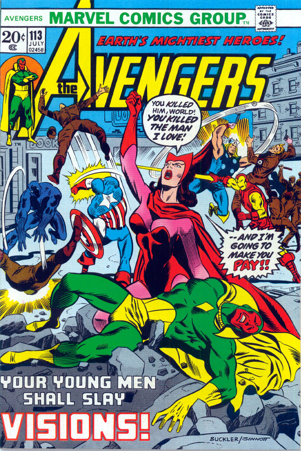 The Avengers (1963) 113 Page 1