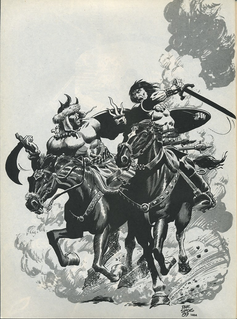 The Savage Sword Of Conan Issue #175 #176 - English 60
